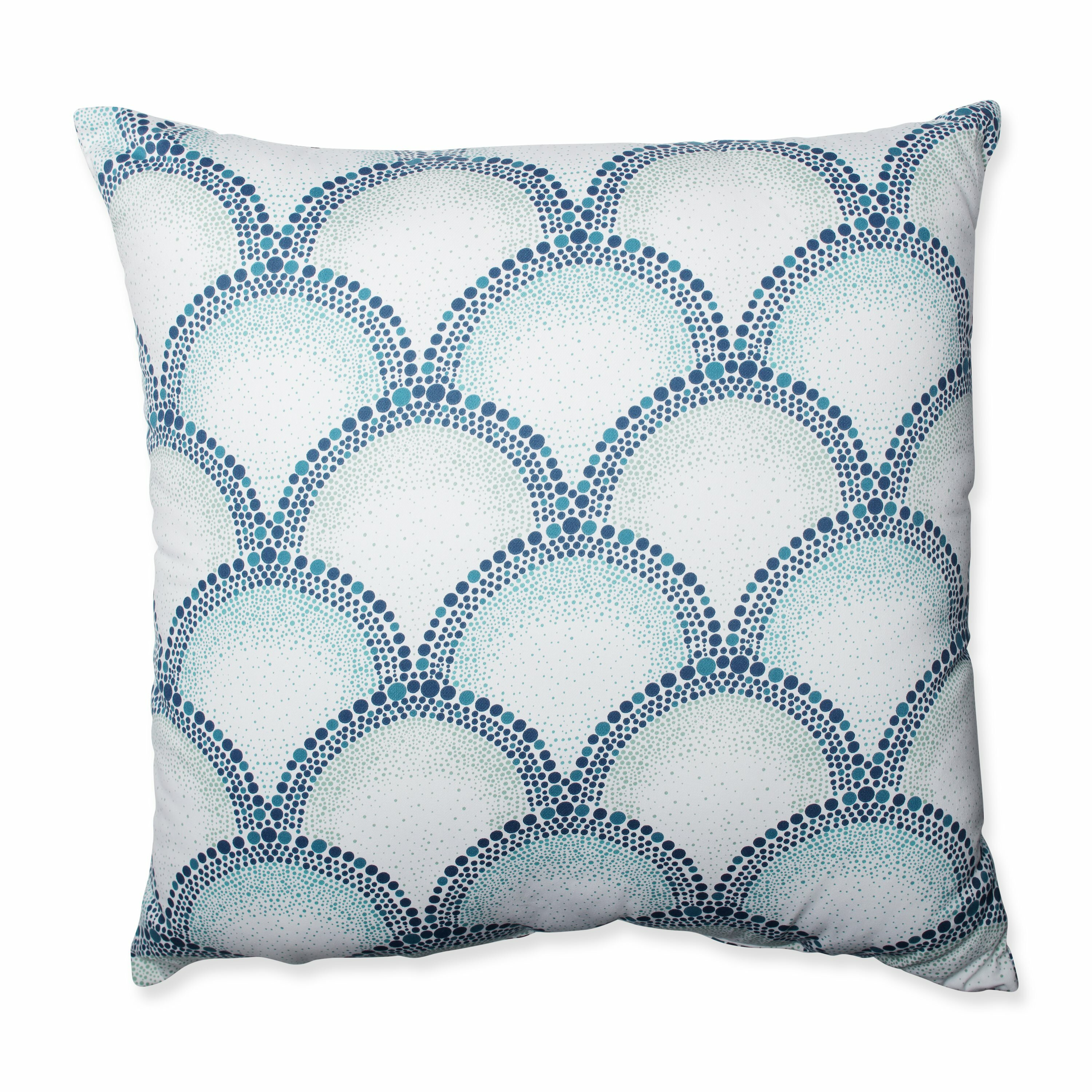 Wayfair Teal Throw Pillows : Shelamar Teal Cotton Throw Pillow Wayfair