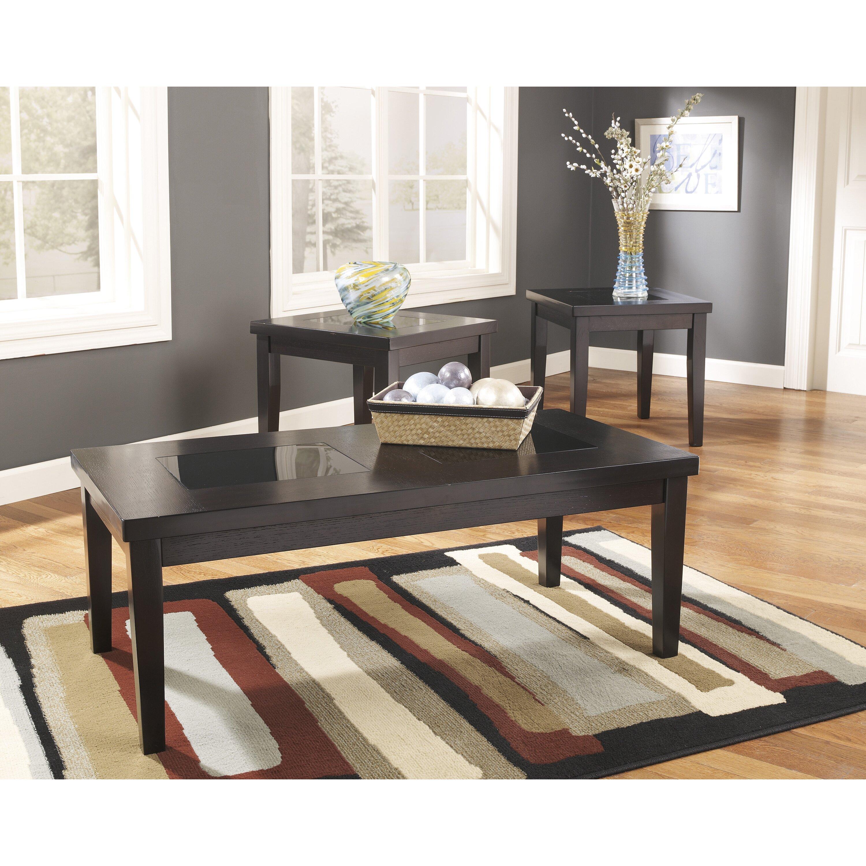 Denja 3 Piece Coffee Table Set Wayfair