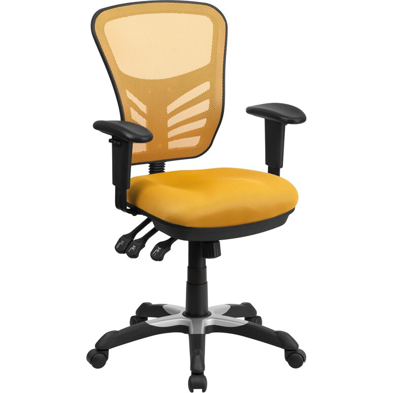 Flash Furniture Mid Back Mesh Office Chair Reviews Wayfair