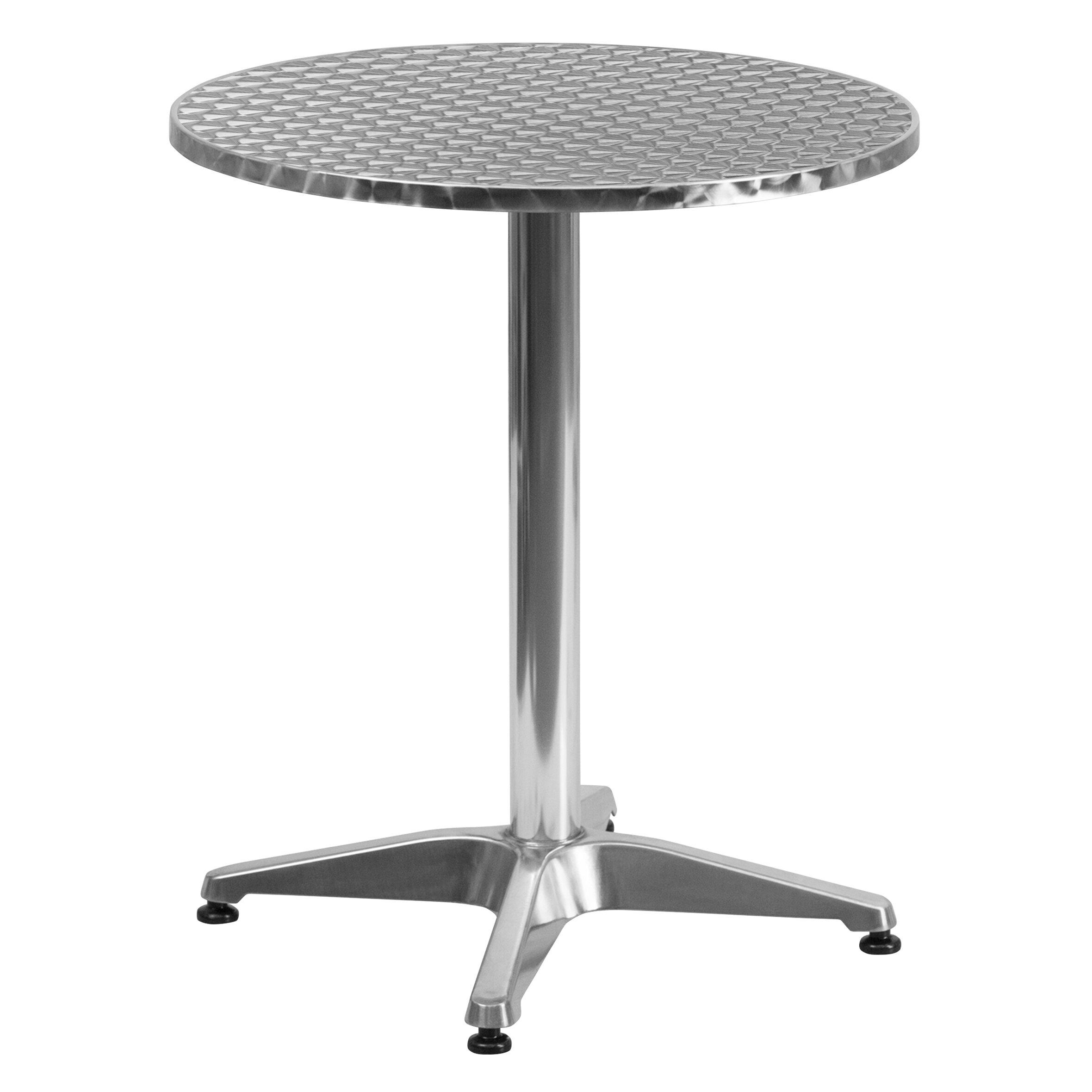 Flash Furniture Round Bistro Table Reviews Wayfair