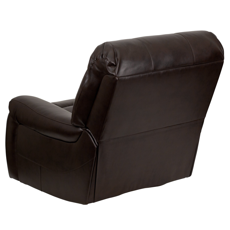Overstuffed Leather Chaise Recliner Wayfair