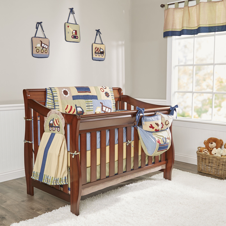 Boutique Baby Constructor 13 Piece Crib Bedding Set   Wayfair