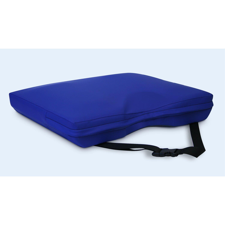 NYOrtho Apex Core Coccyx Gel Foam Cushion In Royal Blue Reviews Wayfair