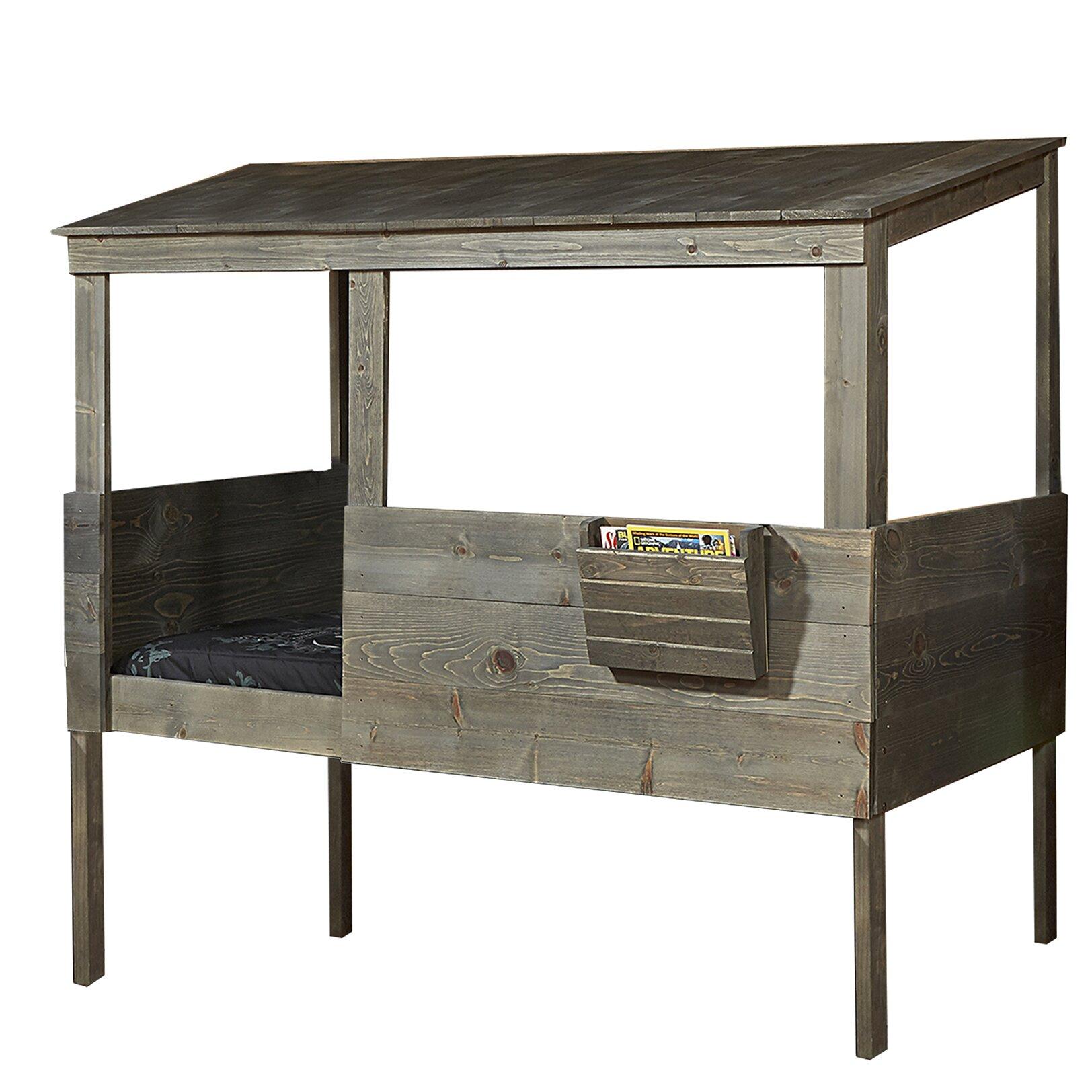 Driftwood Hideout Twin Loft Bed Wayfair Ca