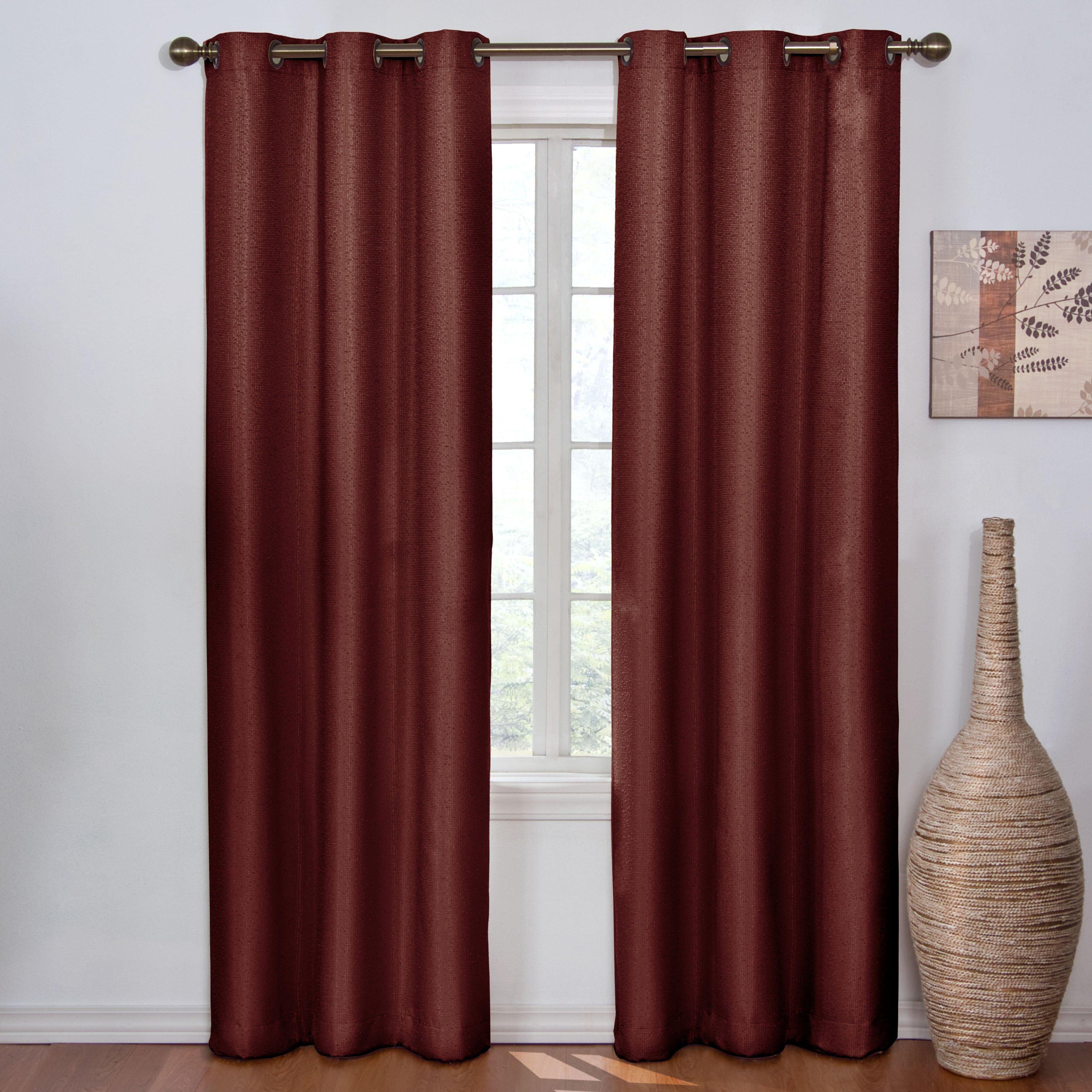 curtains madison single blackout curtain panel reviews wayfair