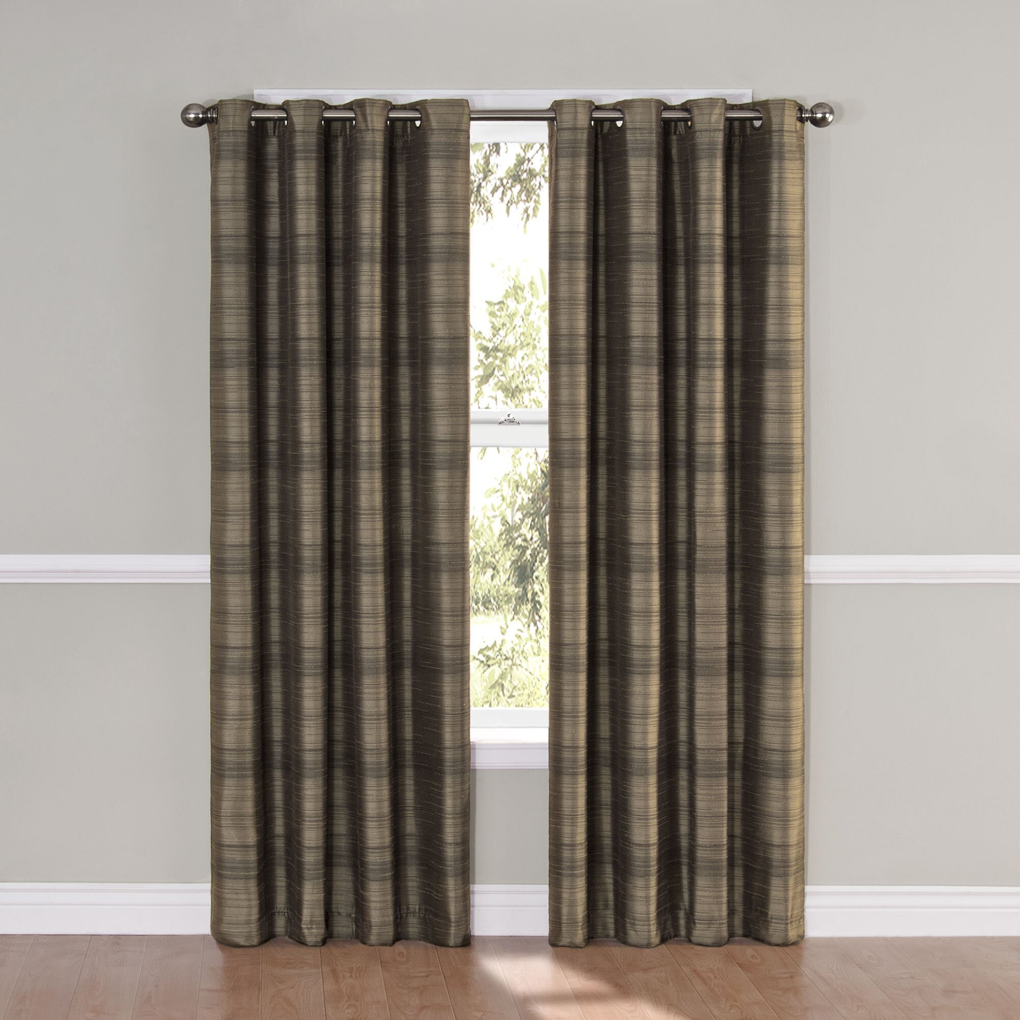 Eclipse Curtains Bellagio Window Single Curtain Panel