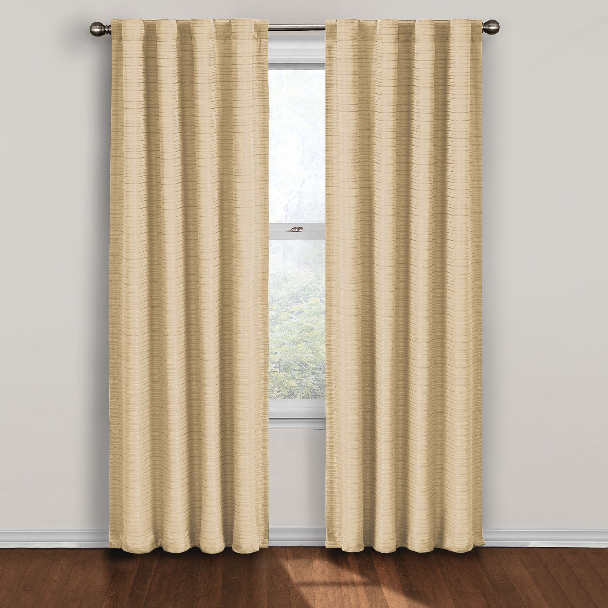 twist rod pocket blackout single curtain panel by eclipse curtains