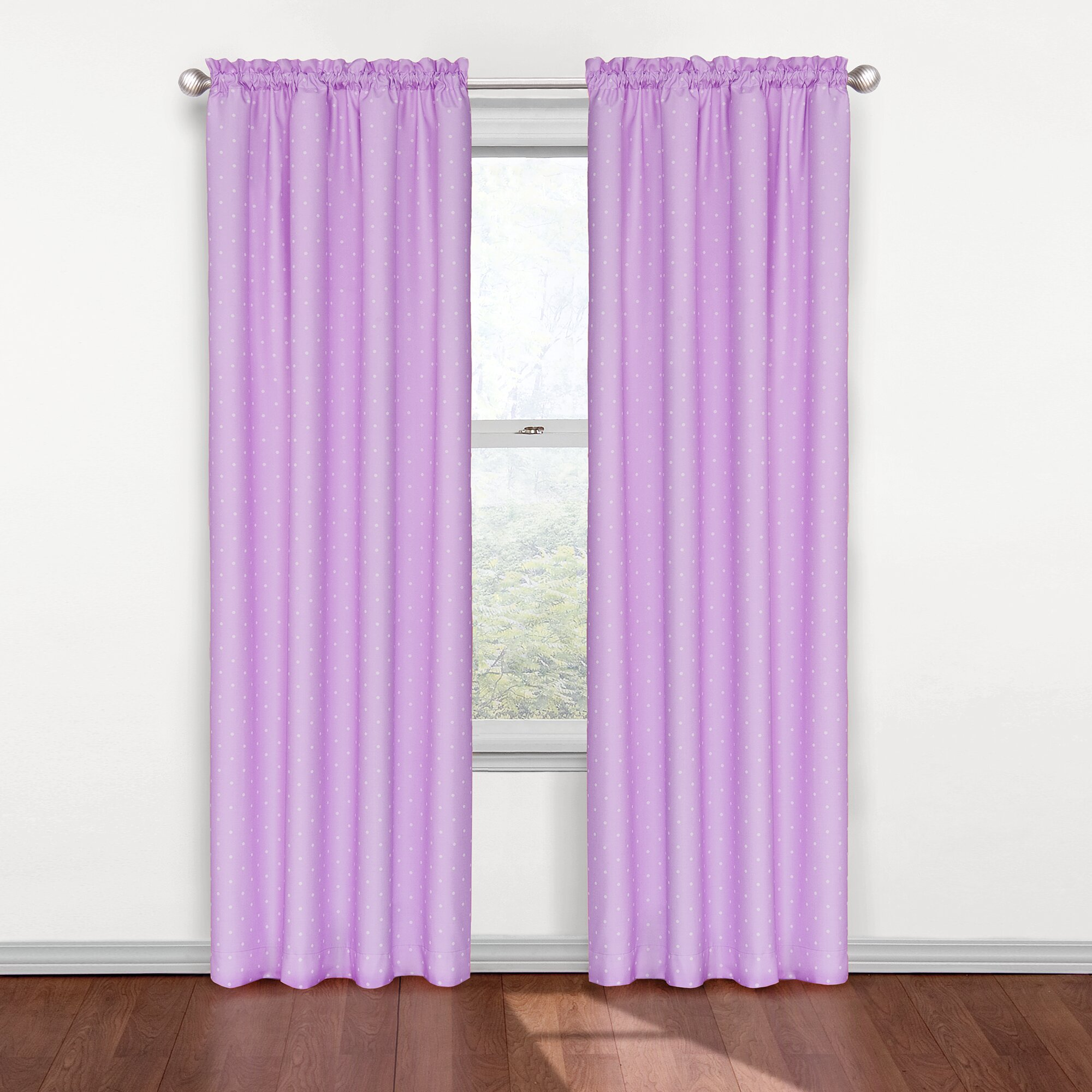kids rod pocket single blackout curtain panel by eclipse curtains