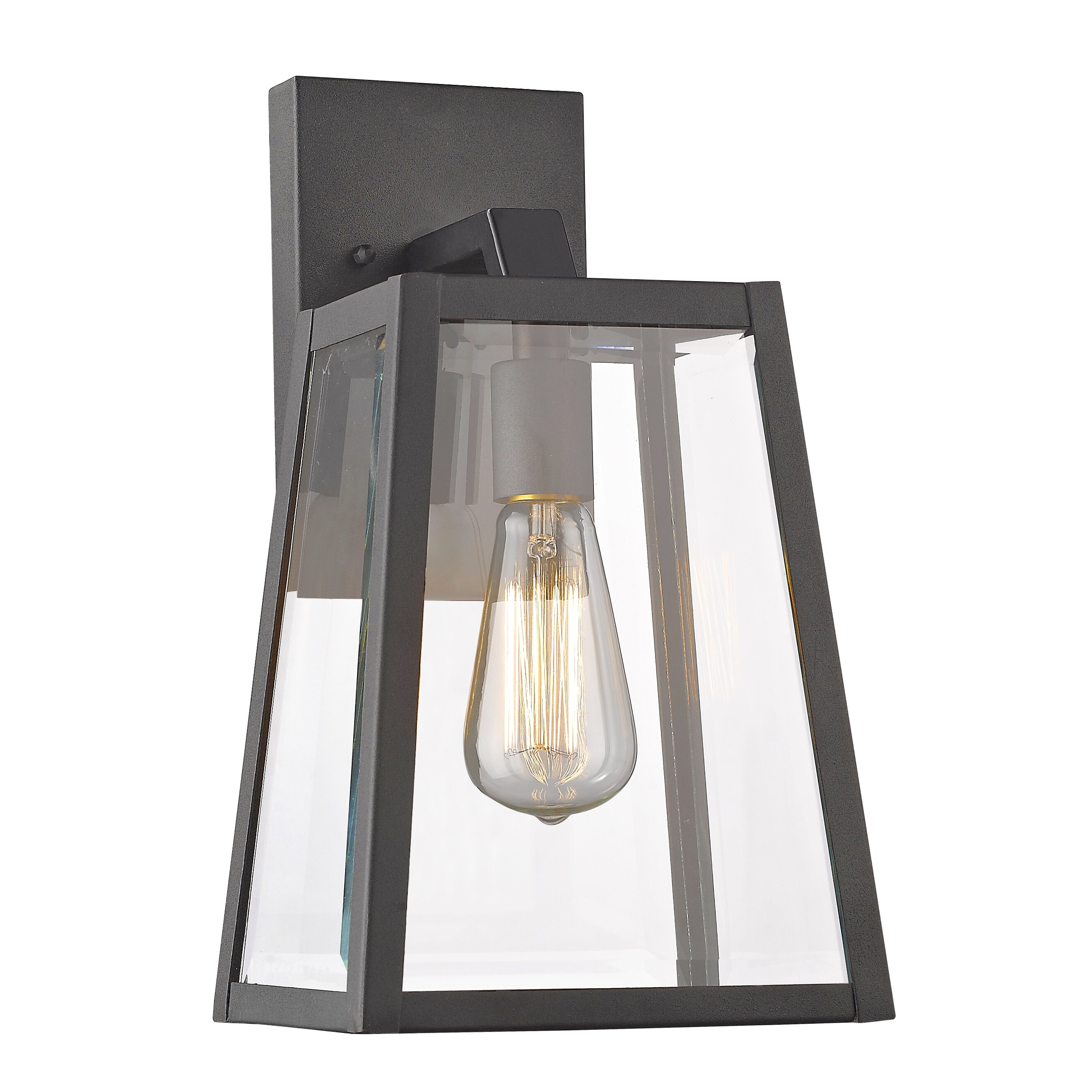 Wayfair External Wall Lights : Chloe Lighting 1 Light Outdoor Wall Lantern & Reviews Wayfair
