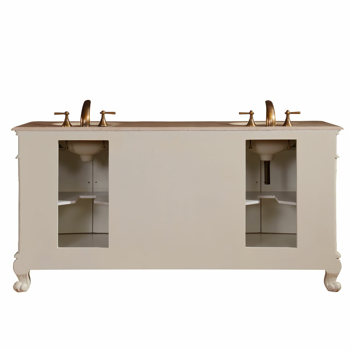 72 double sink cabinet bathroom vanity set wayfair