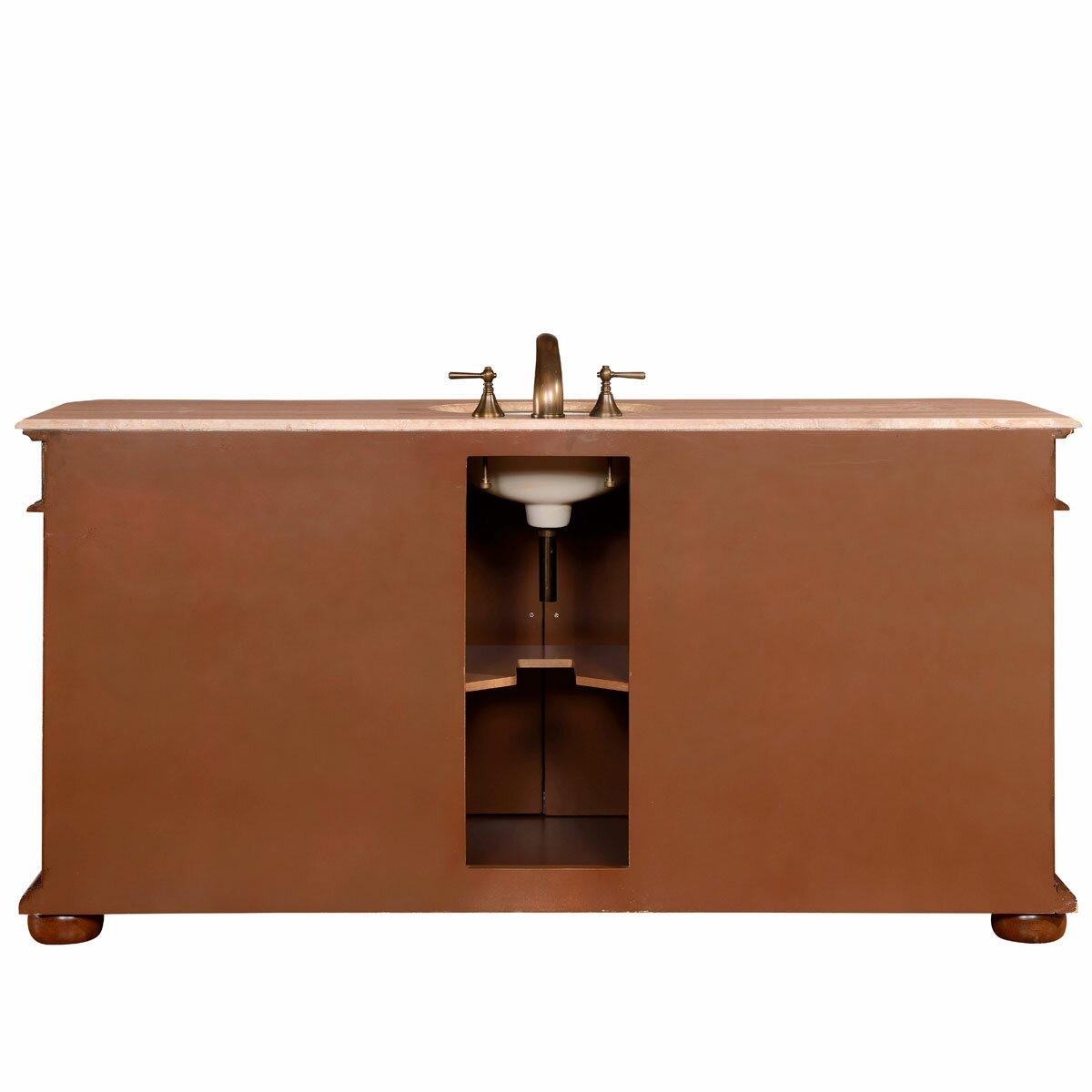 72 single sink cabinet bathroom vanity set wayfair. Black Bedroom Furniture Sets. Home Design Ideas