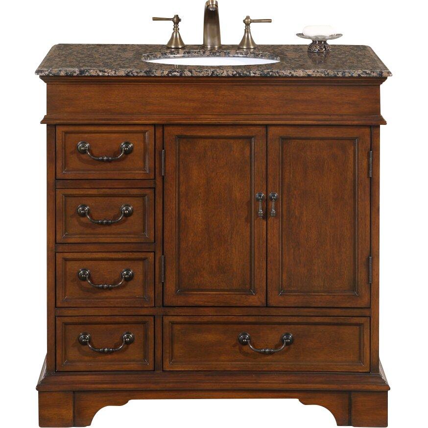 ashley 36 single bathroom vanity set by silkroad exclusive