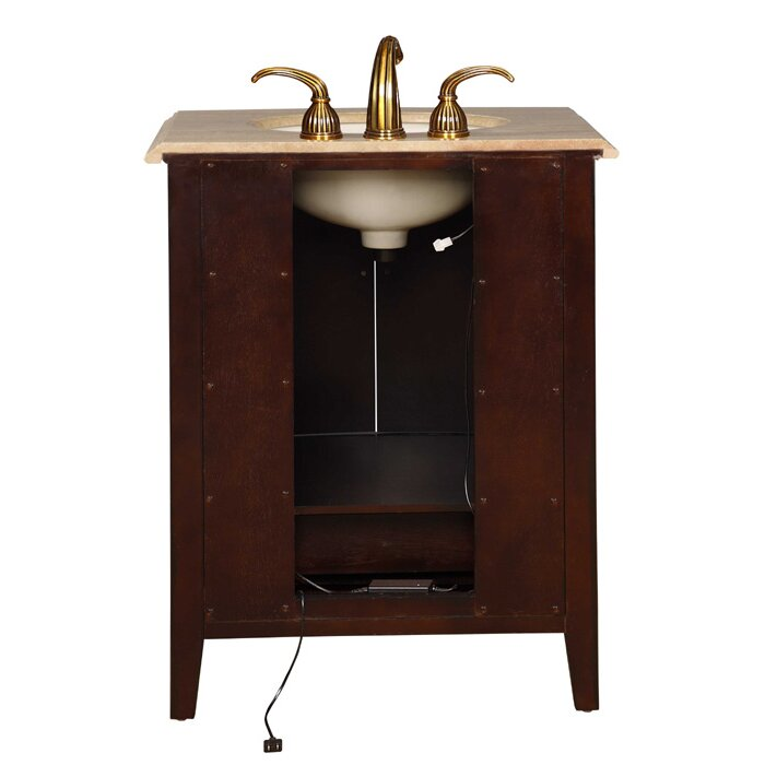 evelyn 27 single bathroom vanity set by silkroad exclusive