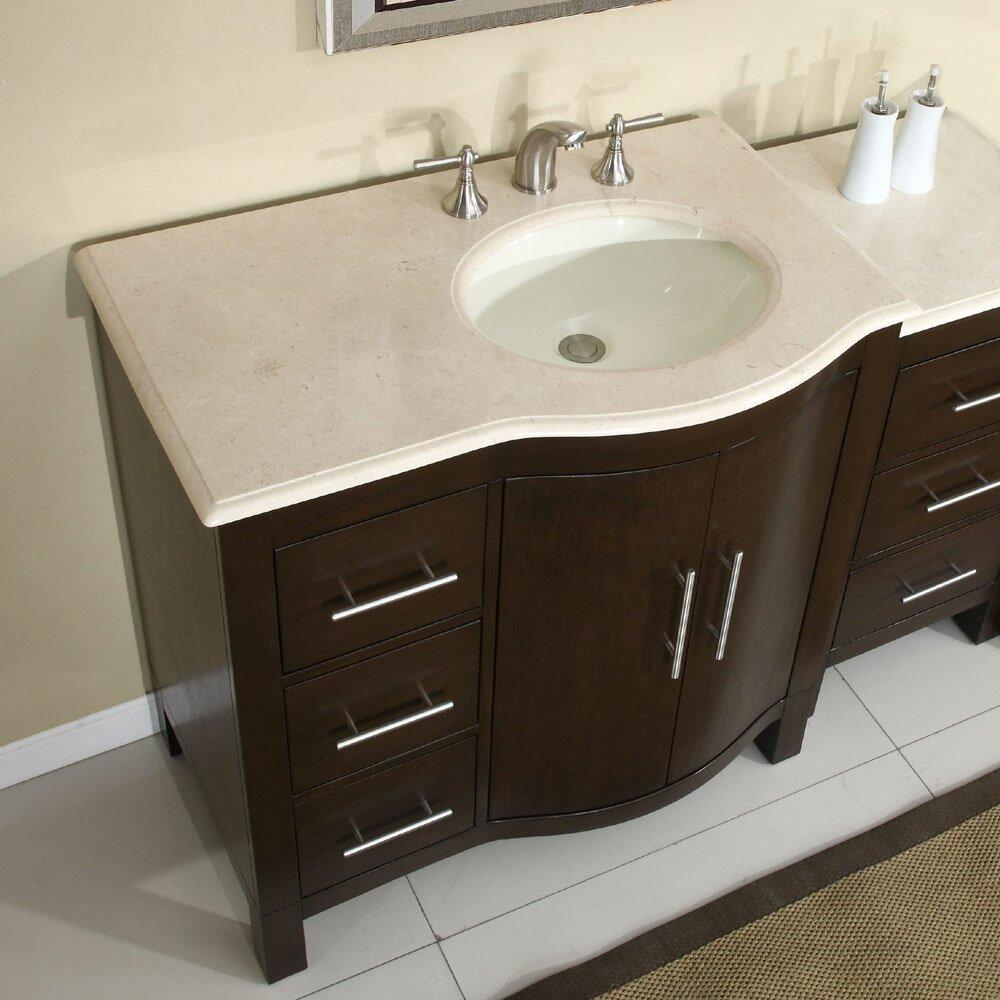 Silkroad exclusive kimberly 54 single bathroom vanity set reviews wayfair for Silkroad bathroom vanity reviews