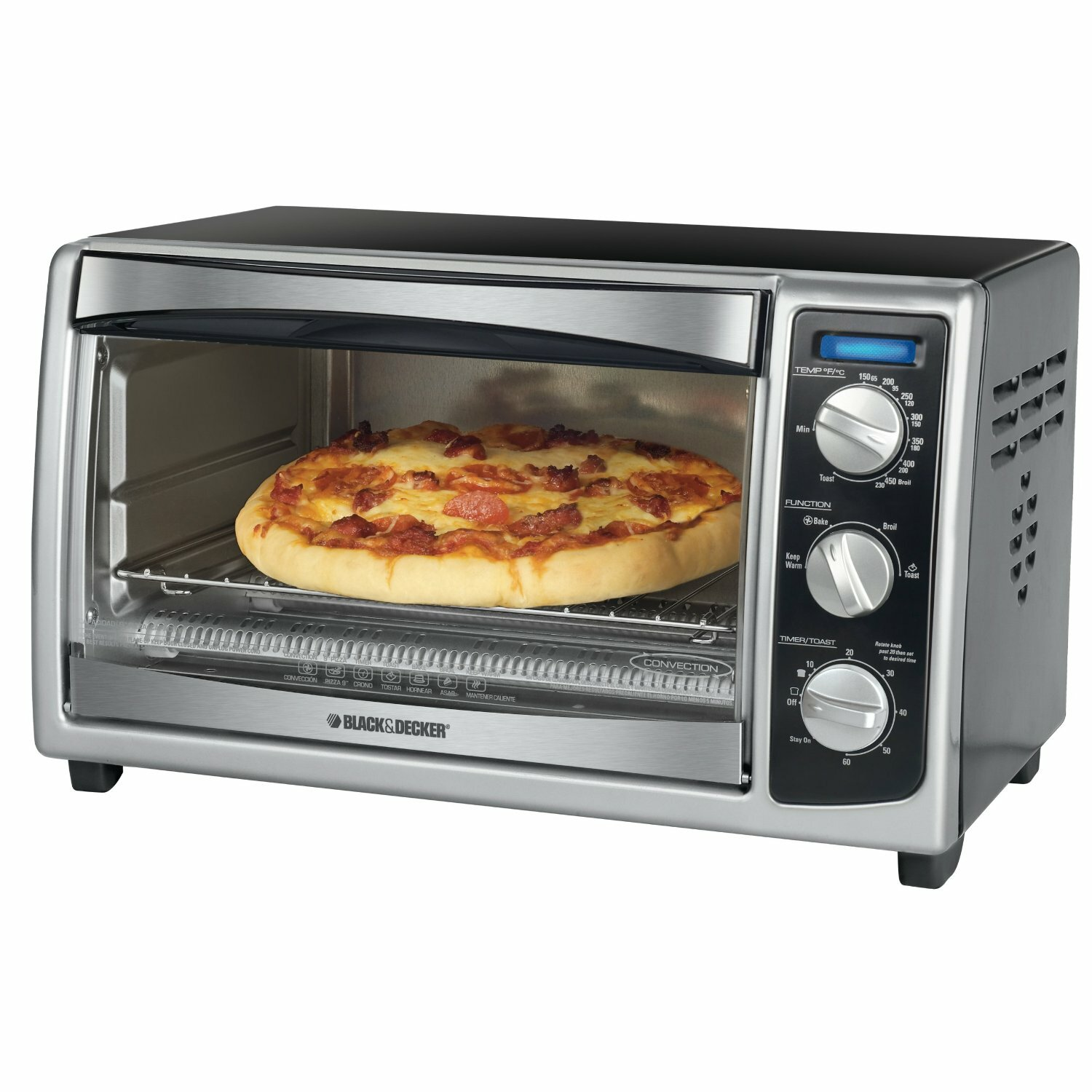 Countertop Convection Ovens For Sale : Countertop Convection Toaster Oven by Black & Decker