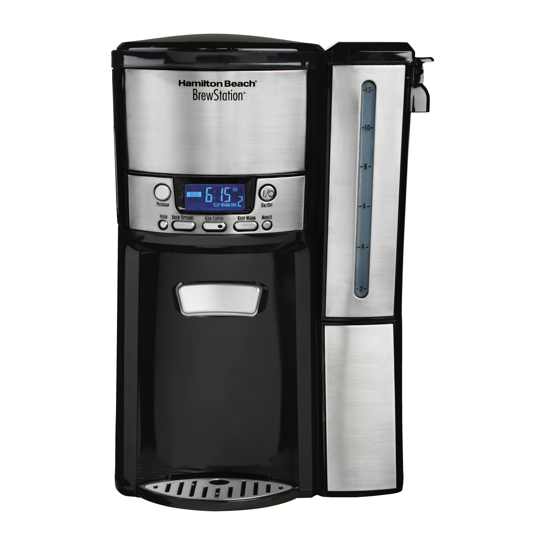 hamilton beach brewstation 12 cup dispensing coffee maker. Black Bedroom Furniture Sets. Home Design Ideas