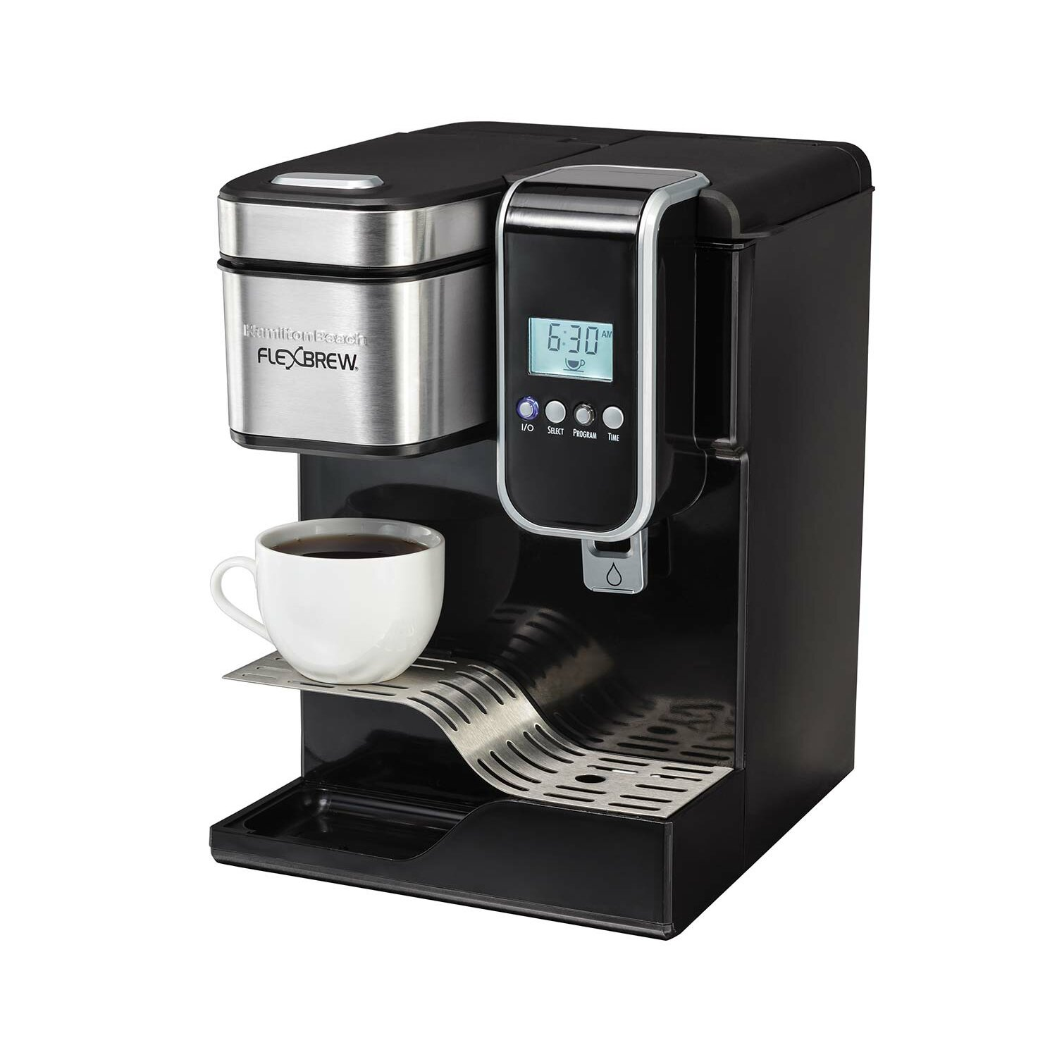 Hamilton Beach FlexBrew Programmable Single-Serve Coffee Maker Wayfair