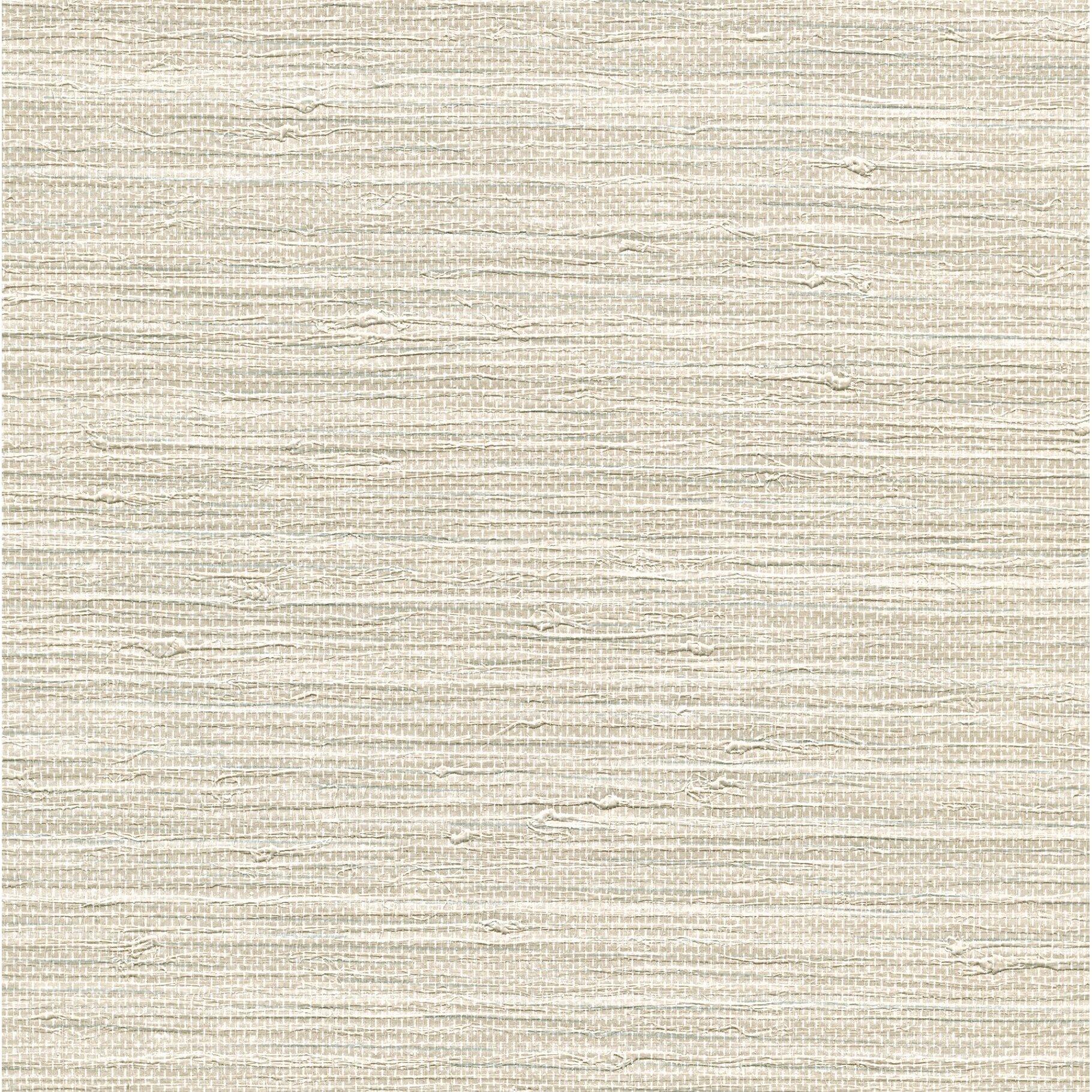 "Grasscloth Wallpaper: Warner Keisling Faux Grasscloth 27' X 27"" Solid Wallpaper"