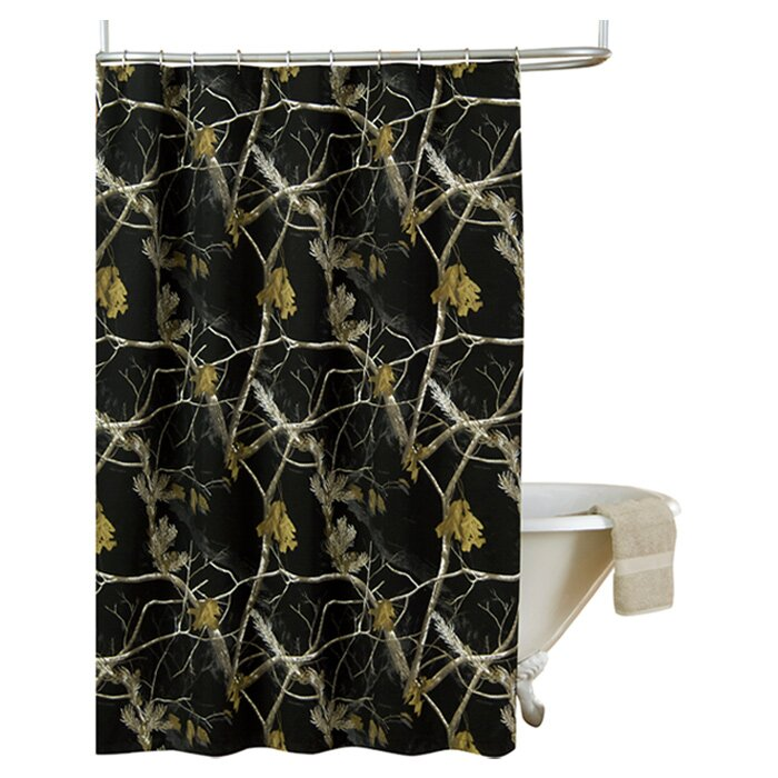 Camo Bathroom Rugs: Camo Shower Curtain