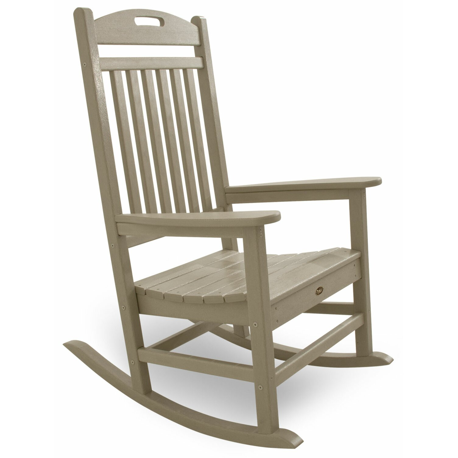 POLYWOOD Yacht Club Rocking Chair & Reviews
