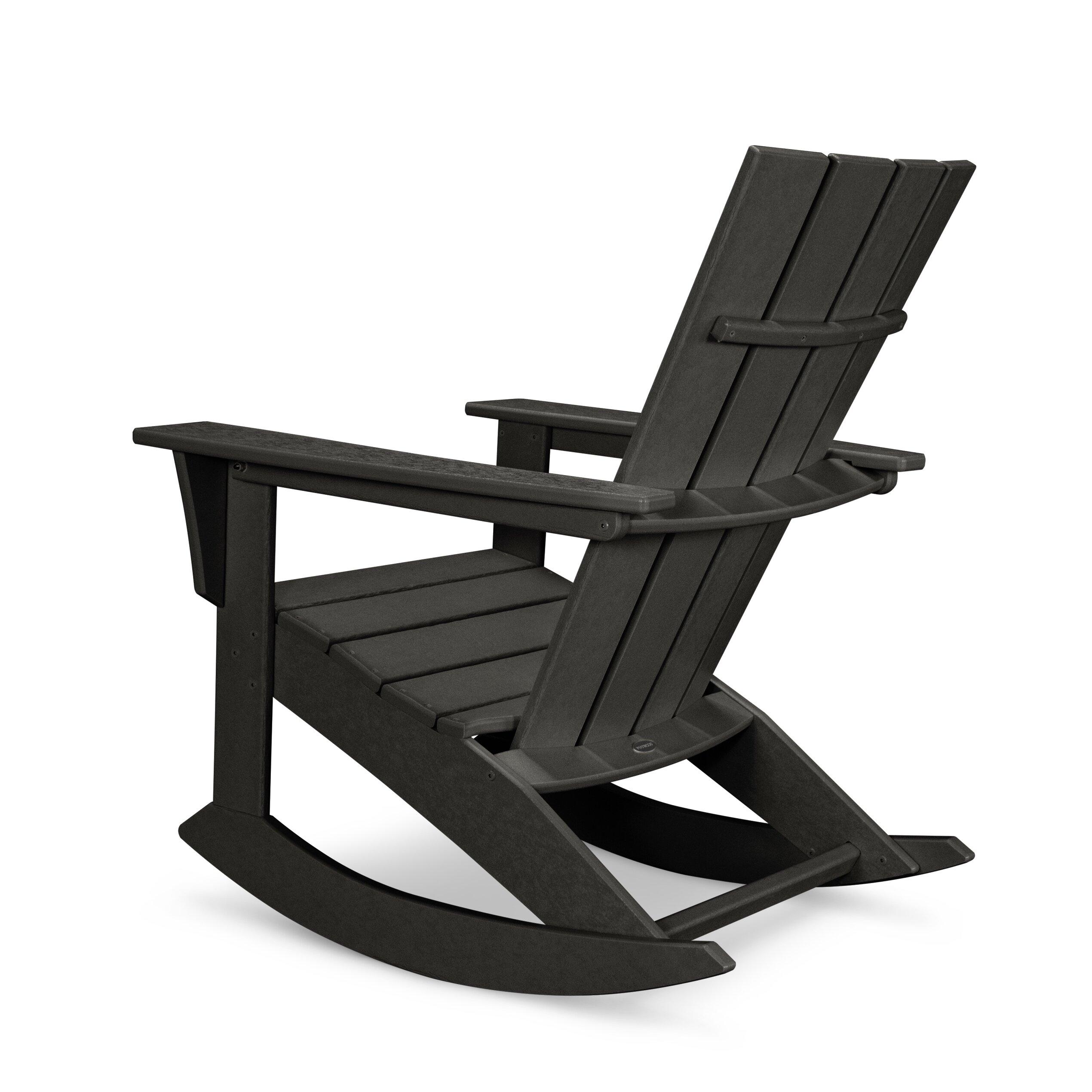 Quattro Adirondack Rocker Chair by POLYWOOD®