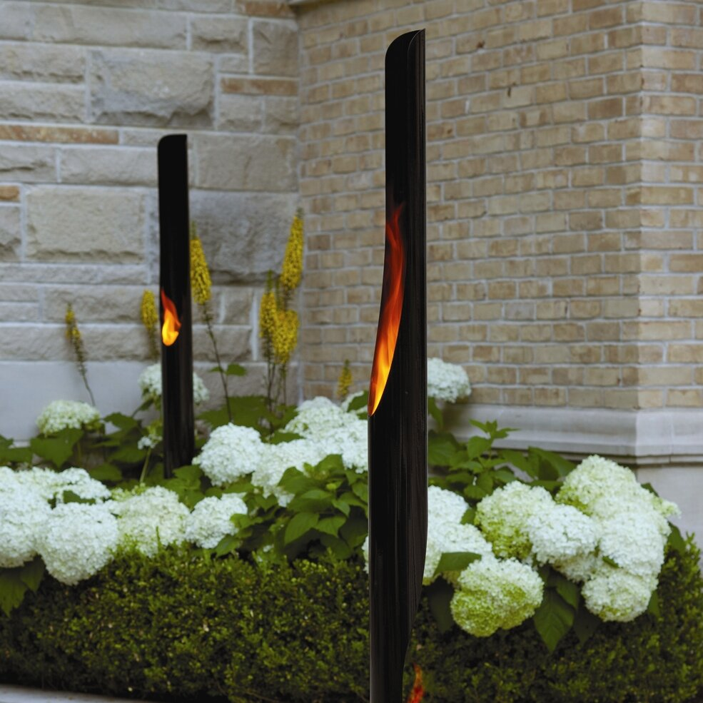 Absolute Steel Bio Ethanol Outdoor Fireplace Wayfair