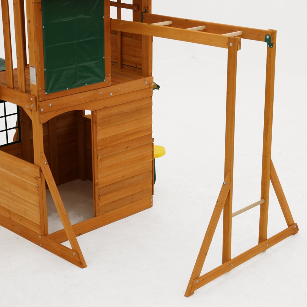 Ridgeview Deluxe Clubhouse Wooden Swing Set