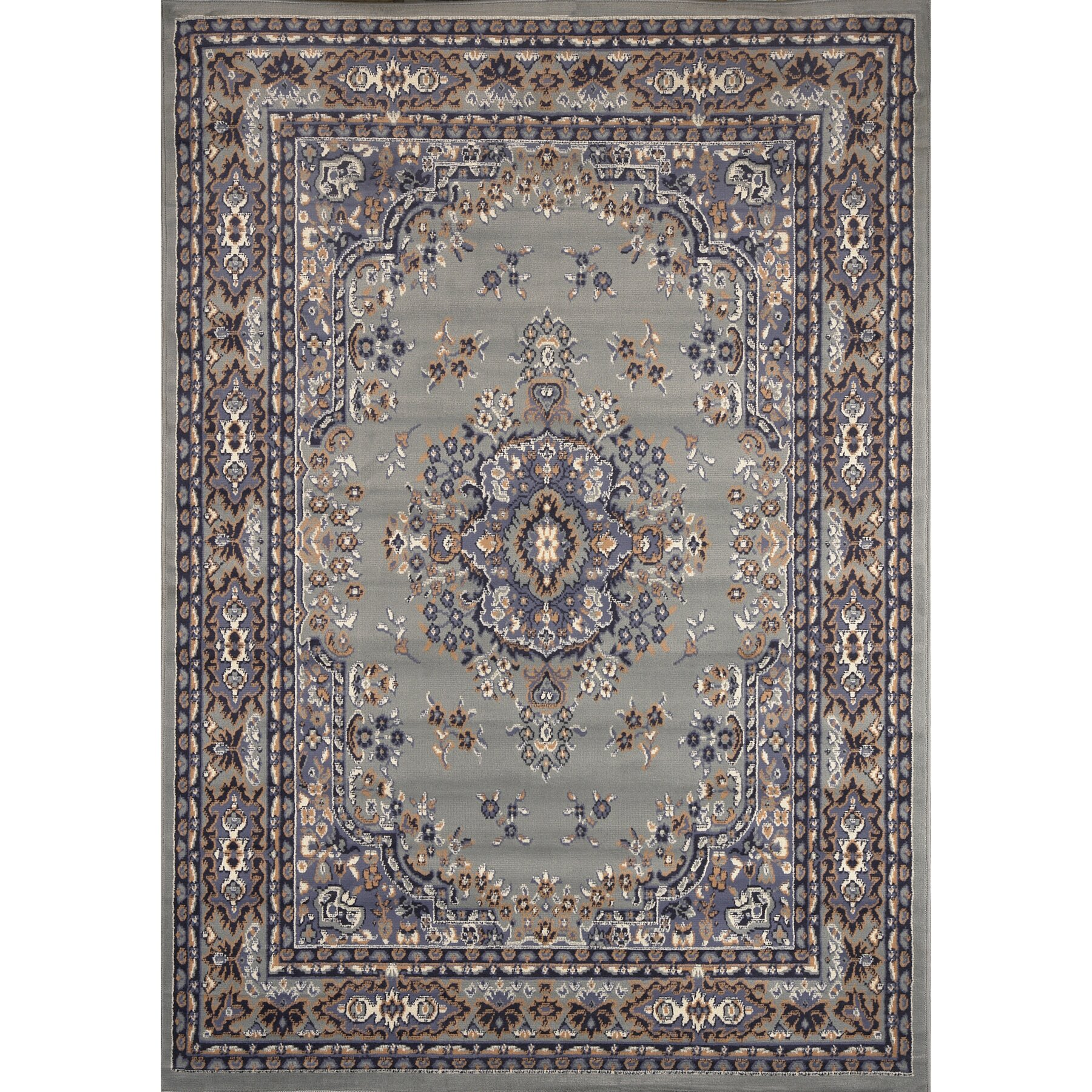 Oriental Rugs: Home Dynamix Premium Gray Area Rug & Reviews