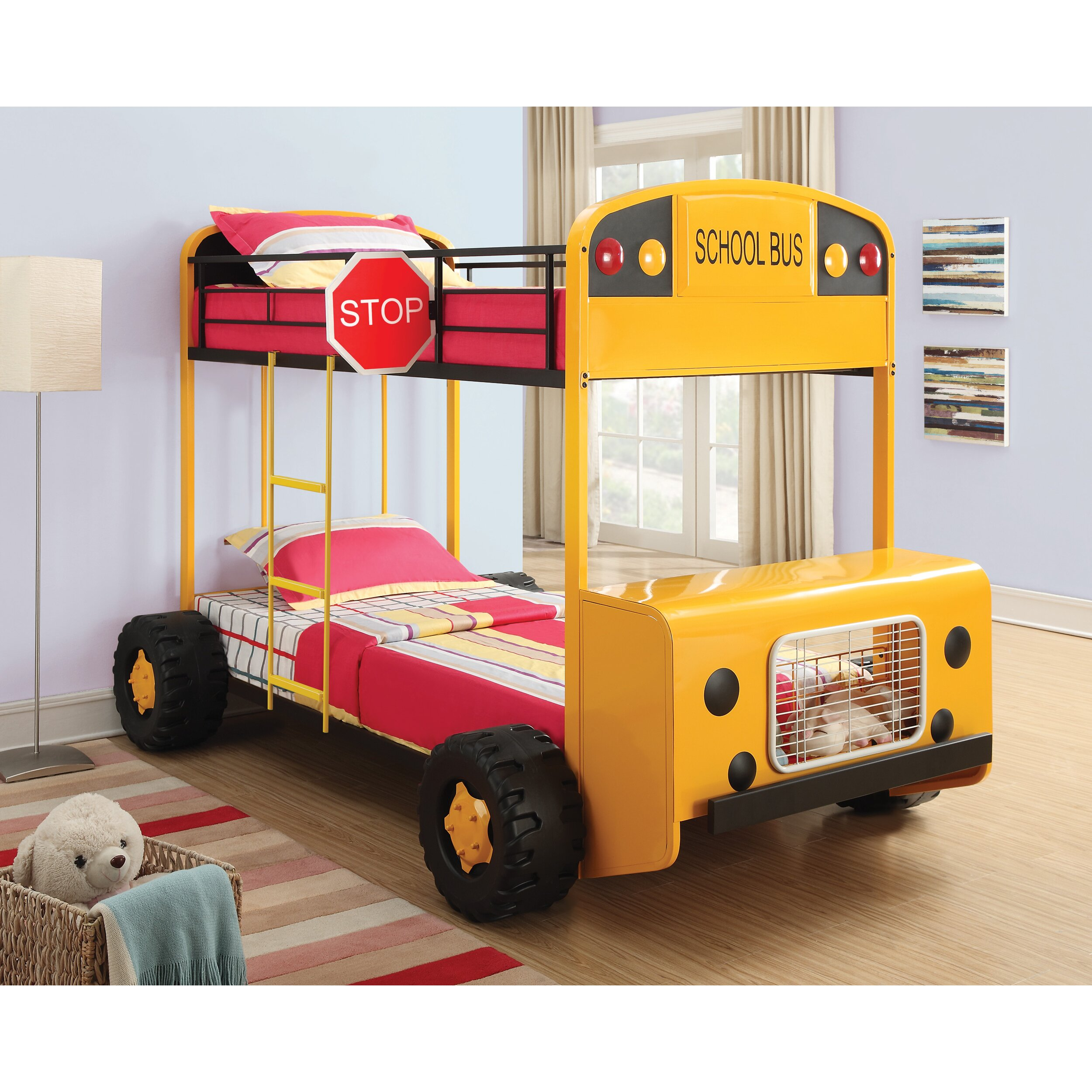 It Looks Like An Old, Abandoned School Bus. But When I Saw ... |School Bus Bed