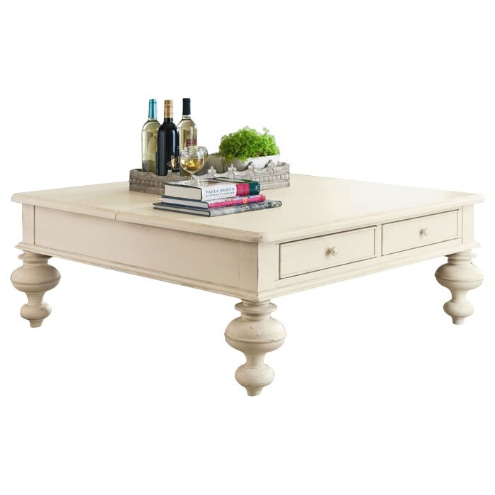 Wildon Home Paula Deen Home Put Your Feet Up Coffee Table With Lift