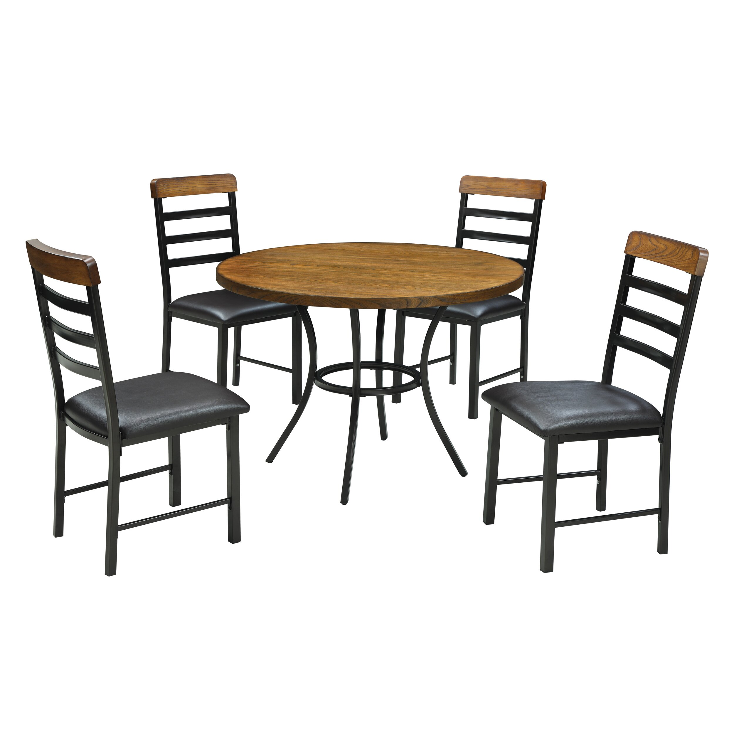 Wildon Home 5 Piece Dining Table Set