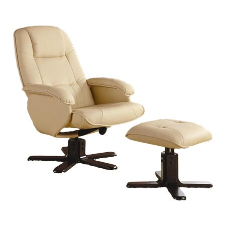Wildon Home 174 Stanton Leisure Vinyl Chair Amp Ottoman Set