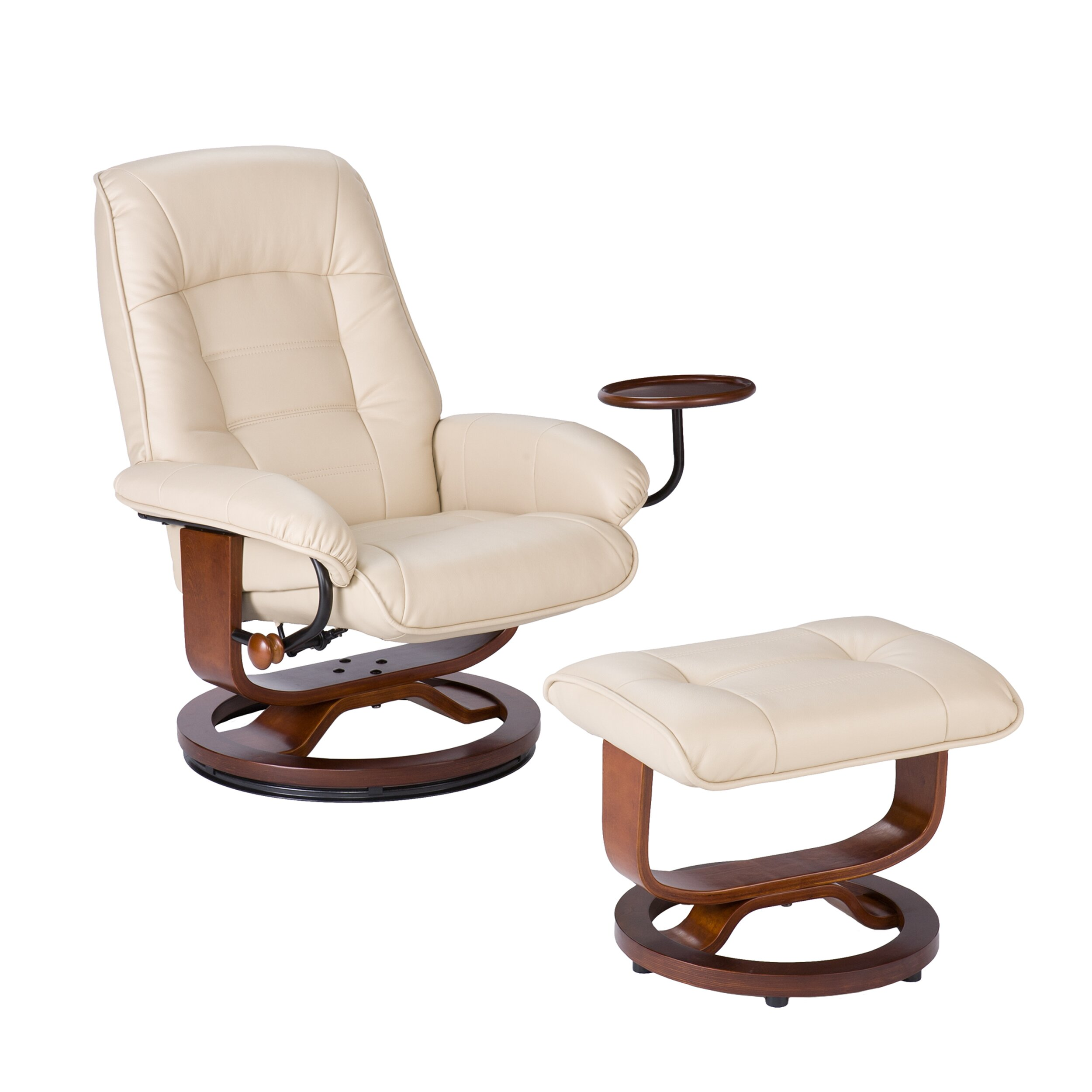 Wildon Home 174 Shaw Ergonomic Recliner Amp Ottoman Set