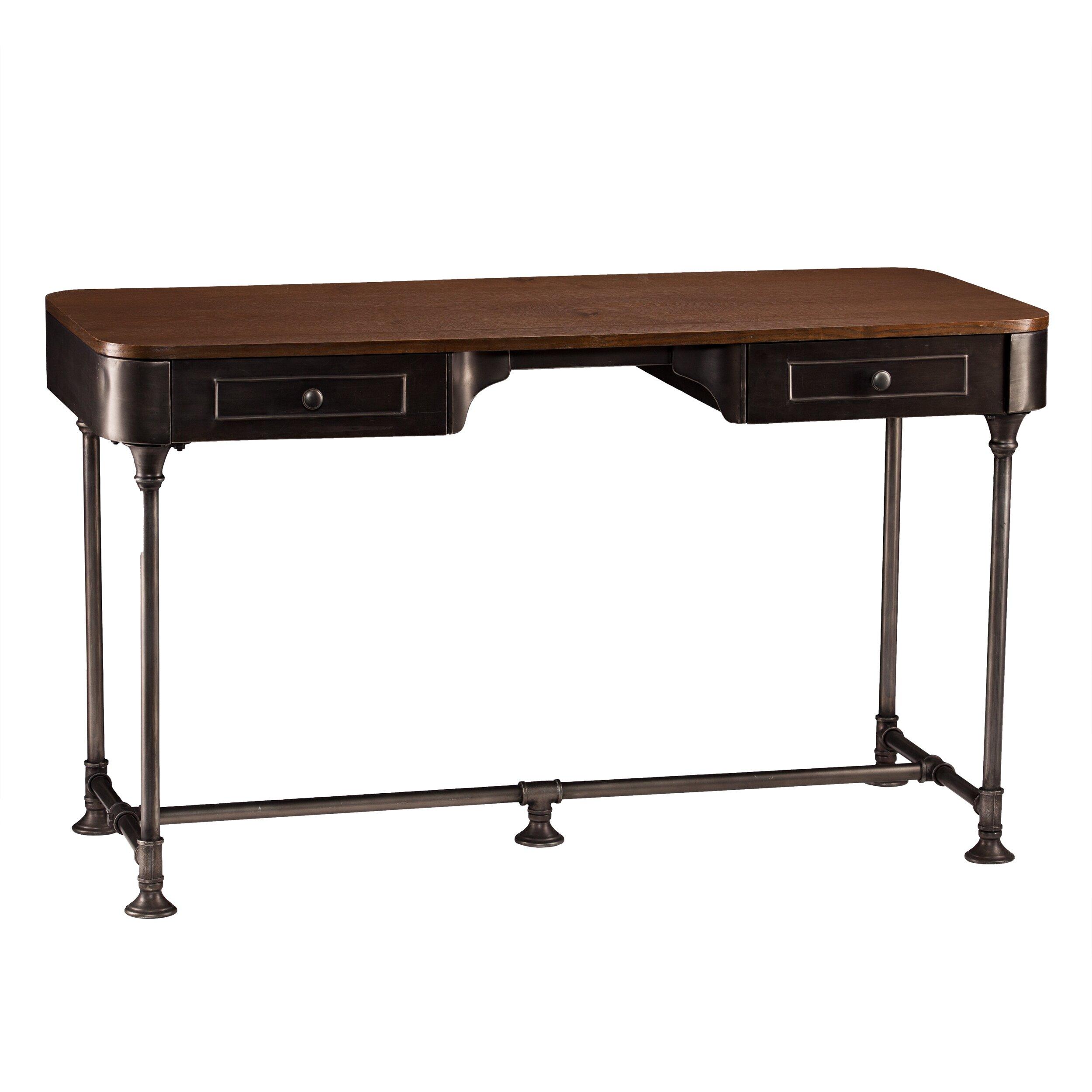 Dontos Industrial Kitchen Cart Southern Enterprises: Wildon Home ® Dorado Writing Desk & Reviews