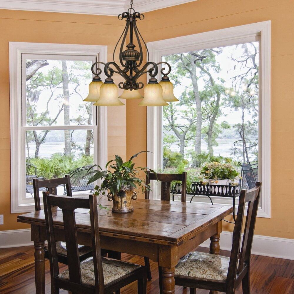 Wildon Home ® Starke 5 Light Nook Chandelier & Reviews