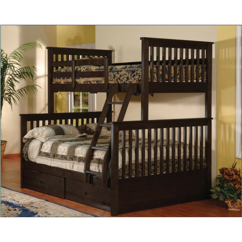 Best 25 Twin Full Bunk Bed Ideas On Pinterest: Wildon Home ® Twin Over Full Bunk Bed With Storage