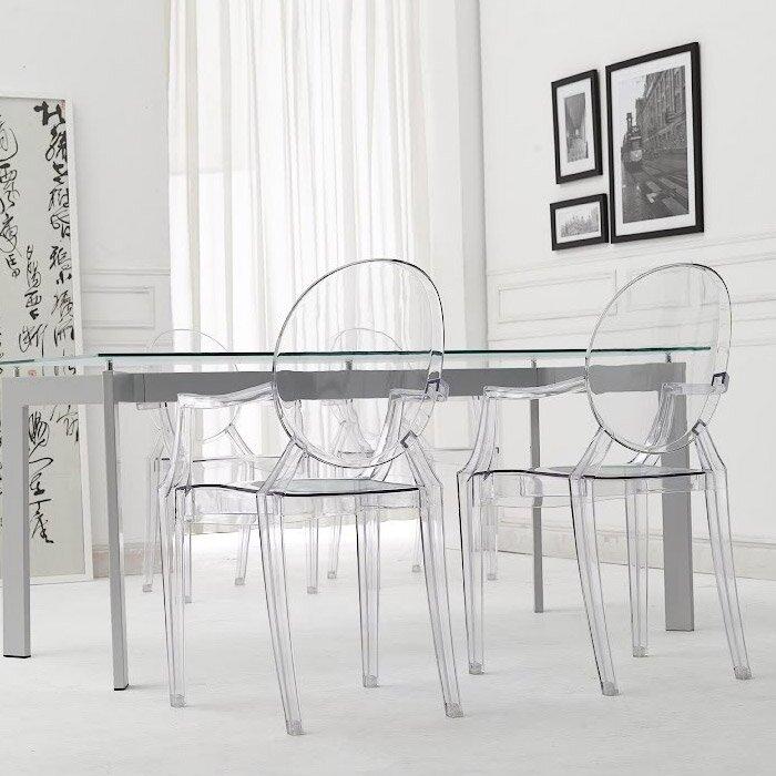 Louis Ghost Arm Chair | Wayfair