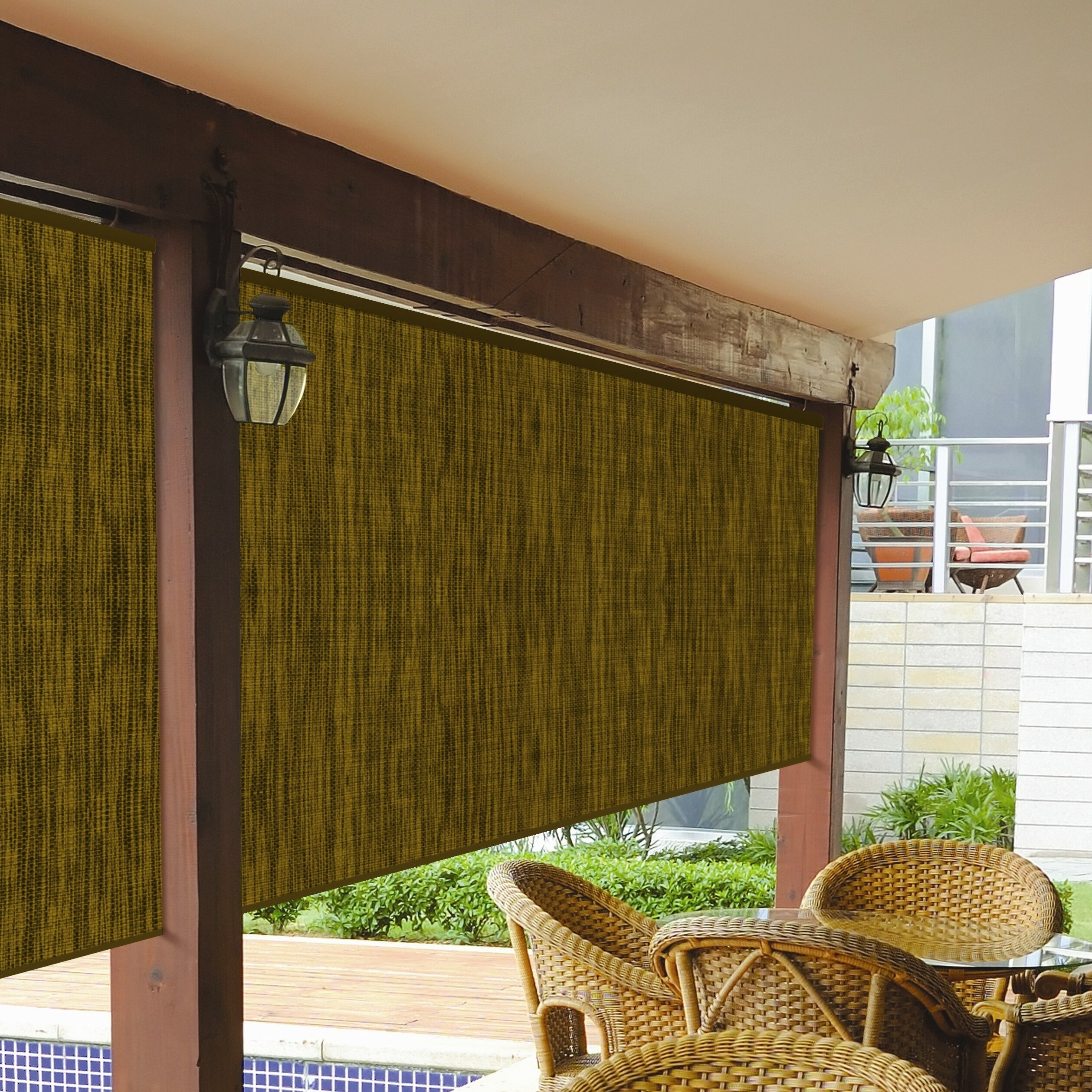 Coolaroo Designer Series Outdoor Solar Shade Reviews Wayfair