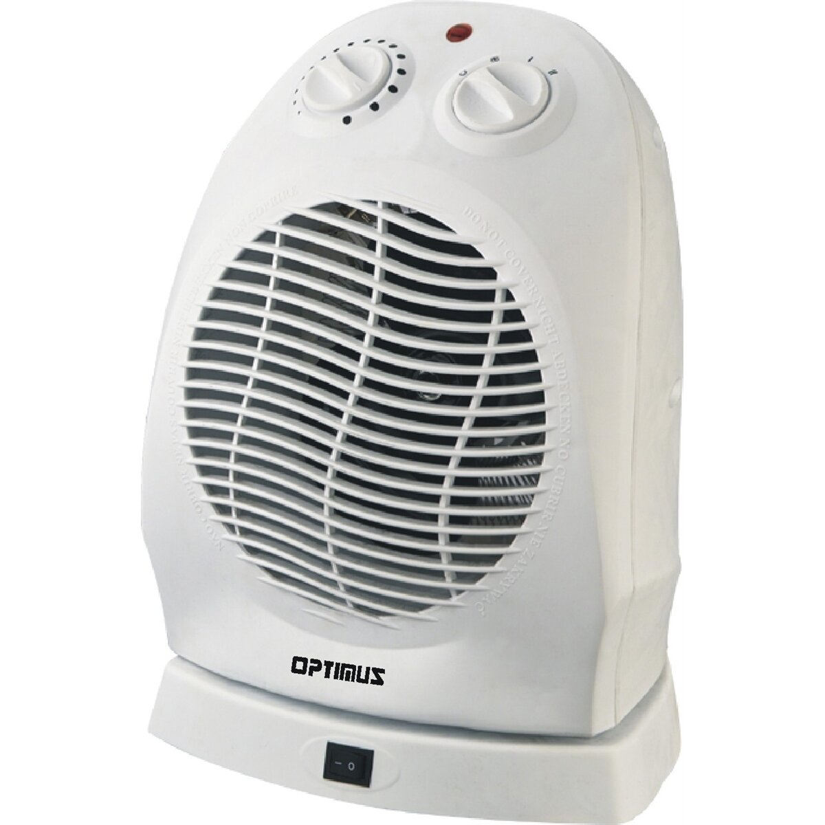 1 500 Watt Portable Electric Fan Compact Heater With