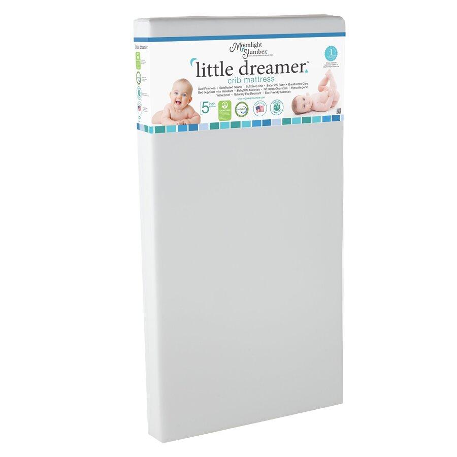 Little Dreamer All Foam Crib Mattress Wayfair