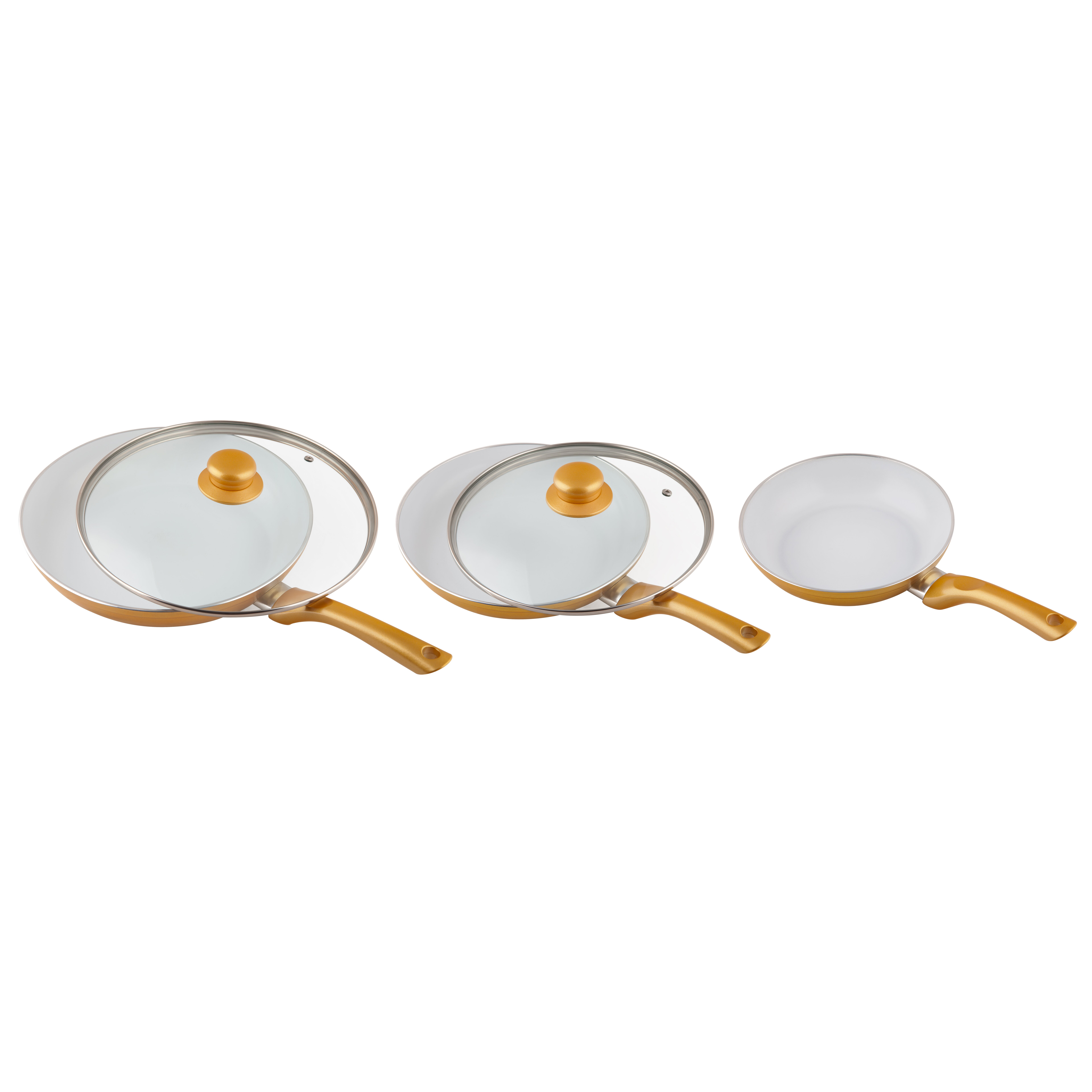 Ceramicore 3 Piece Induction Compatible Non Stick Frying