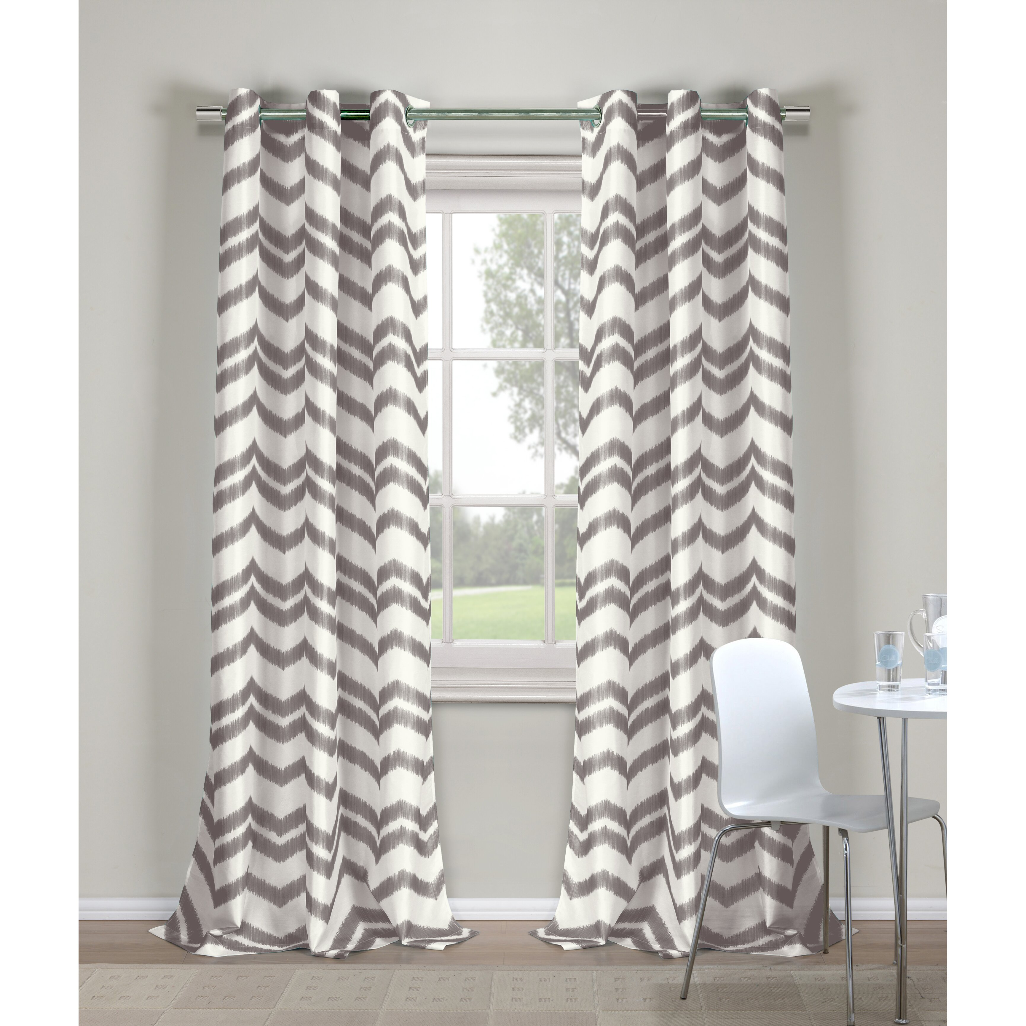 Window curtain panels wayfair for International decor window treatments