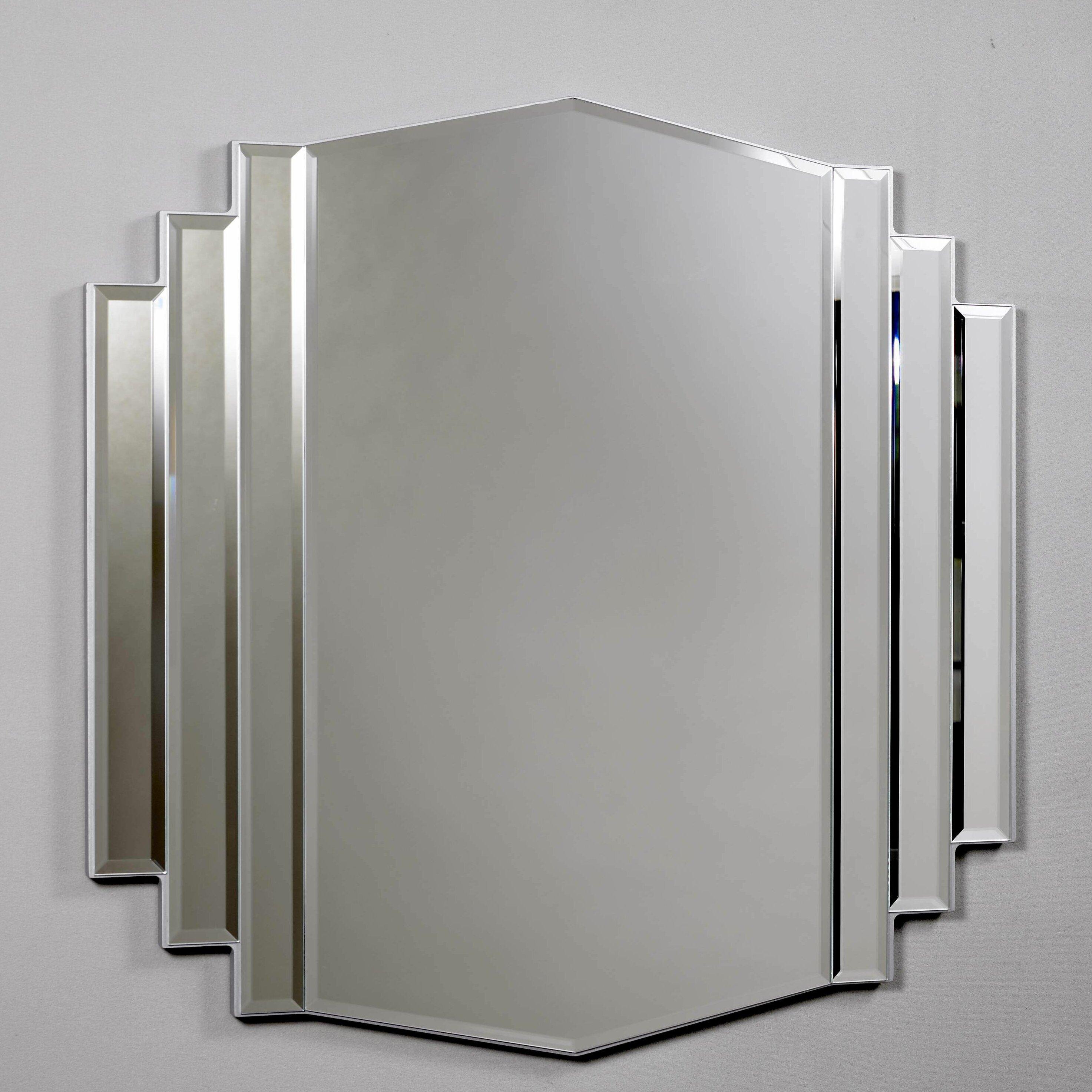 Bathroom Art Deco Mirrors: Morris Mirrors Ltd Art Deco Design Mirror & Reviews