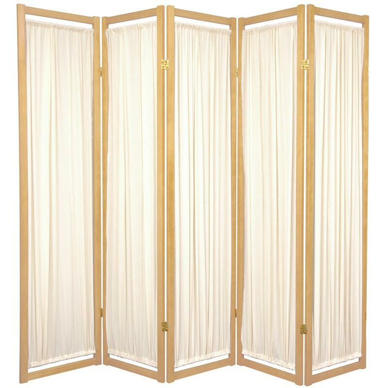 """Oriental Furniture 72"""" x 70"""" Helsinki Shoji 5 Panel Room ..."""