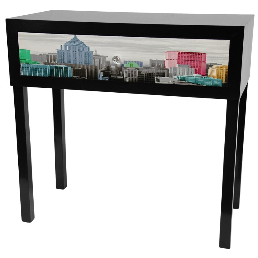 Colorful new york console table wayfair for Asian furniture nyc