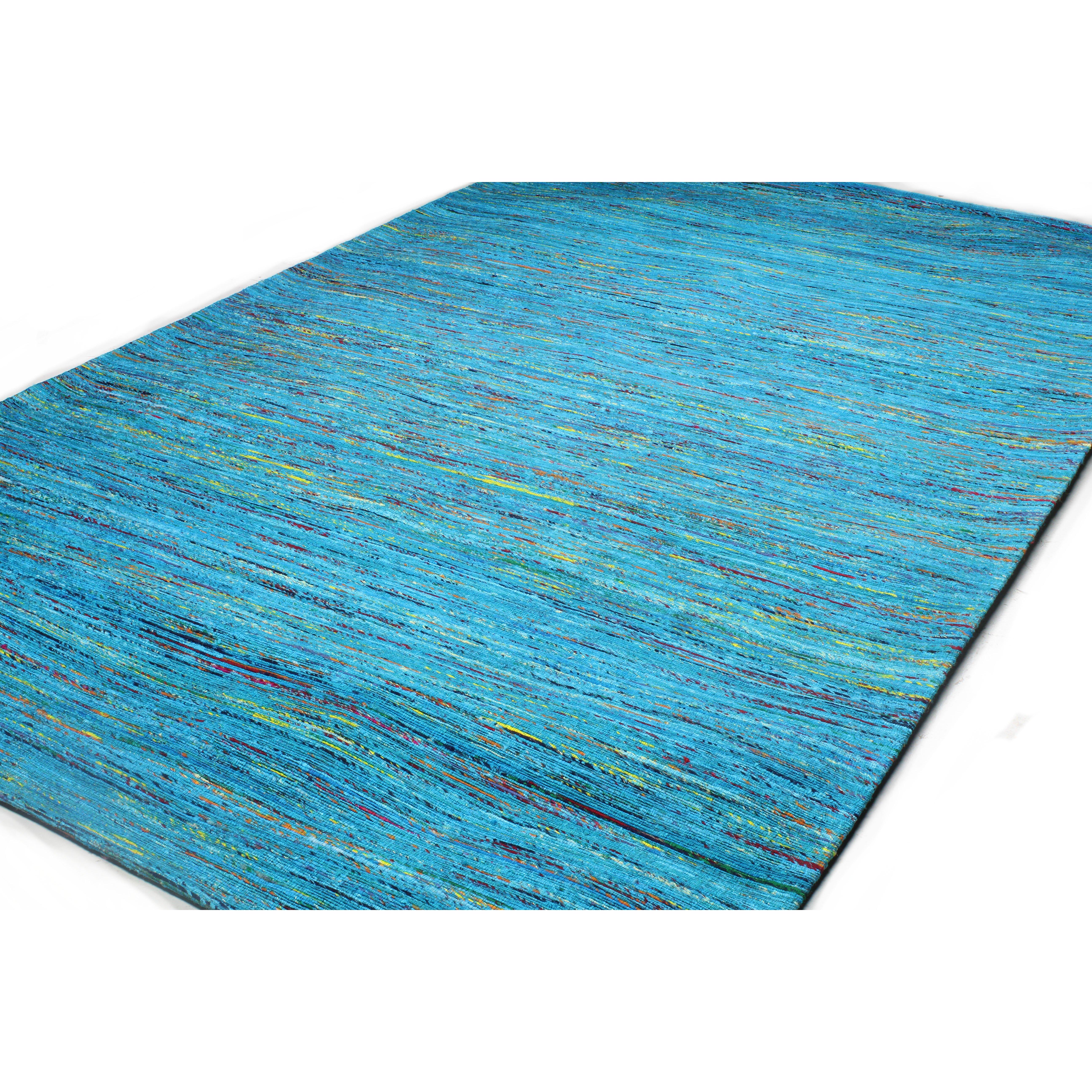 bashian rugs bohemian blue gold area rug reviews wayfair. Black Bedroom Furniture Sets. Home Design Ideas