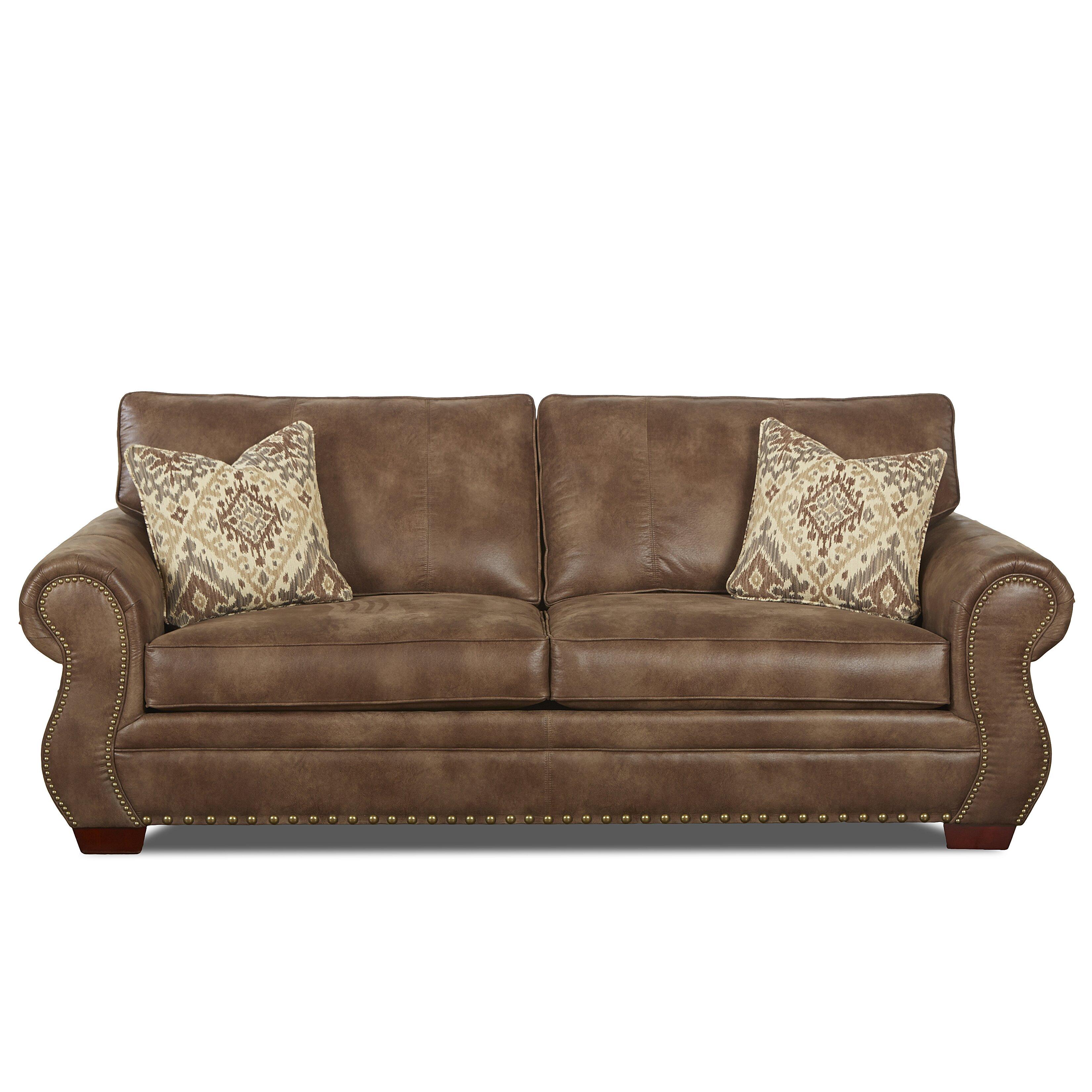 Klaussner Leather Sofa Review: Klaussner Furniture Jackie Sofa & Reviews