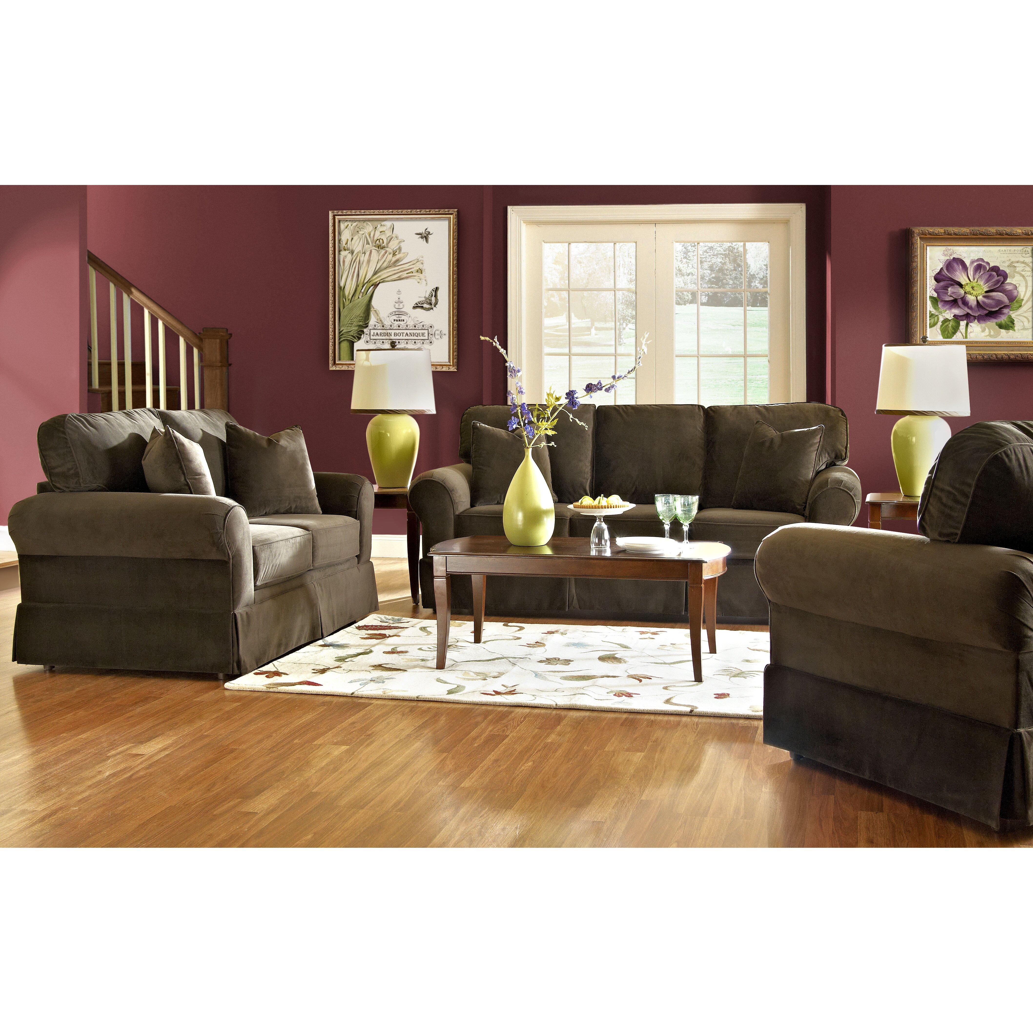 Klaussner Furniture Greenough Sofa & Reviews