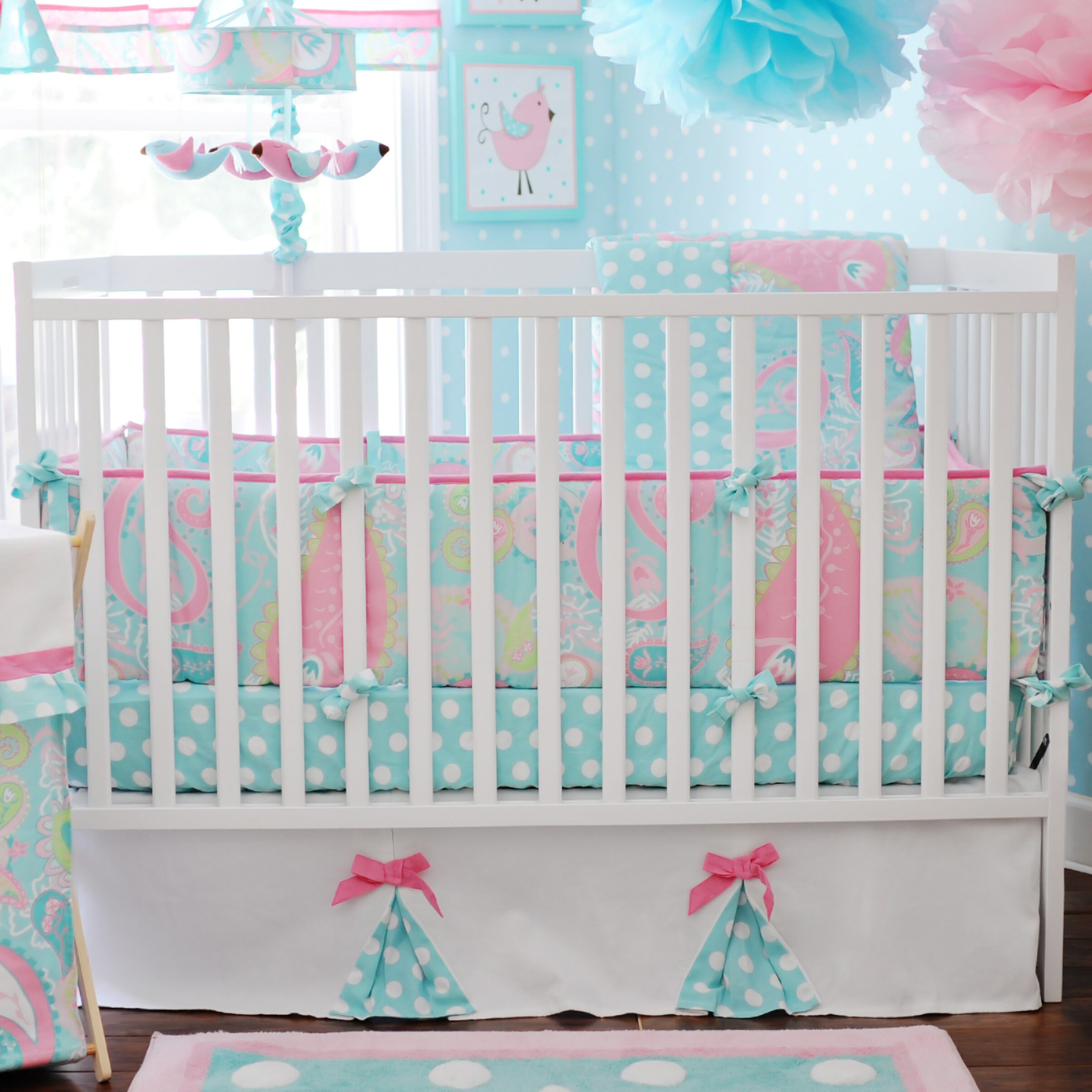 my baby sam pixie baby 3 piece crib bedding set reviews wayfair