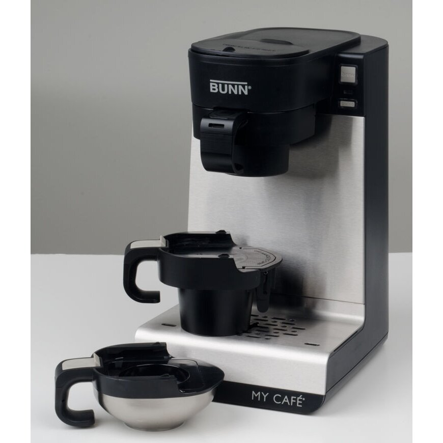 My Cafe Single Cup Multi Use Home Coffee Maker 42900.0301 Bunn Restaurant Coffee Maker